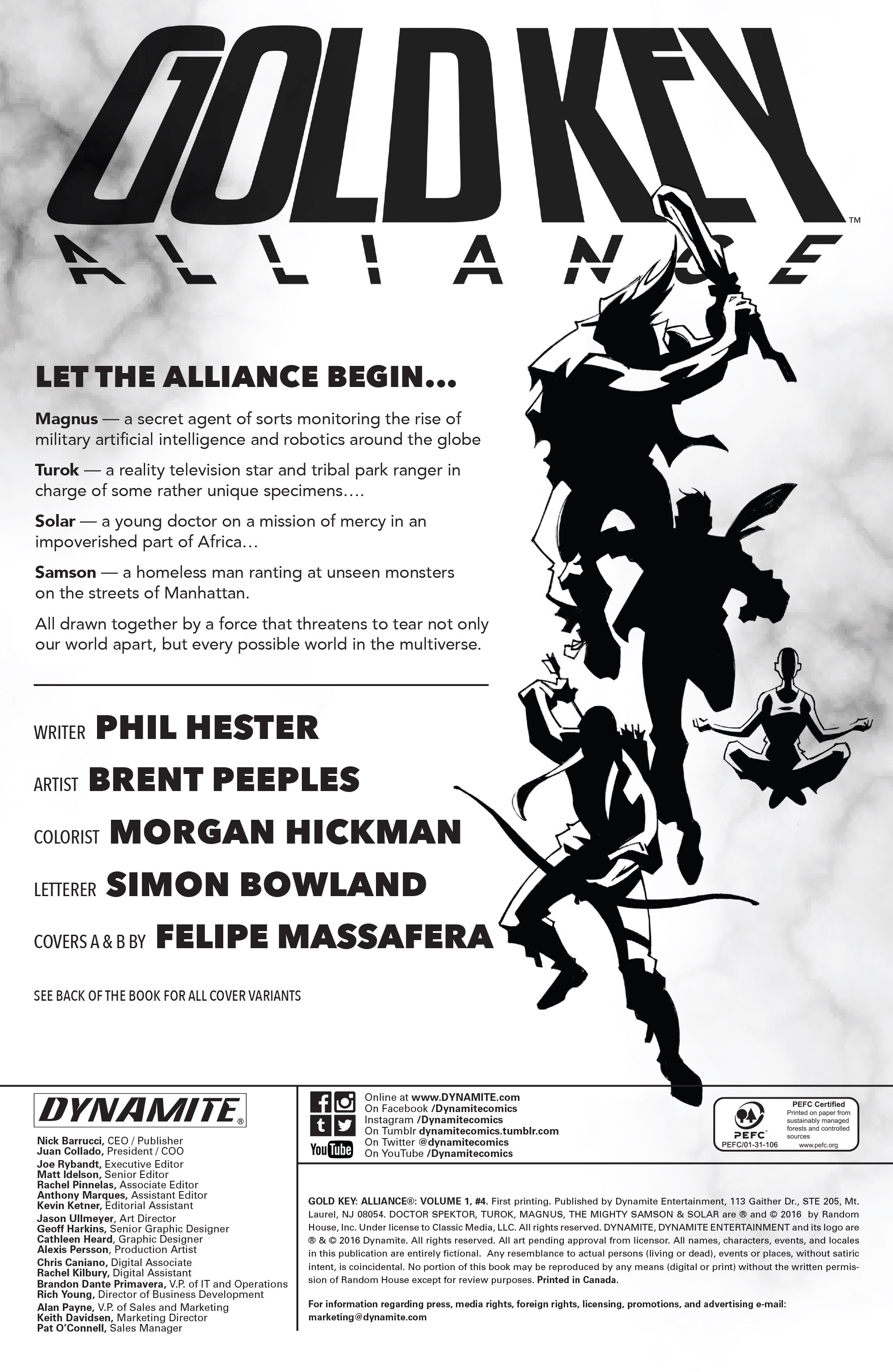 Read online Gold Key: Alliance comic -  Issue #4 - 2
