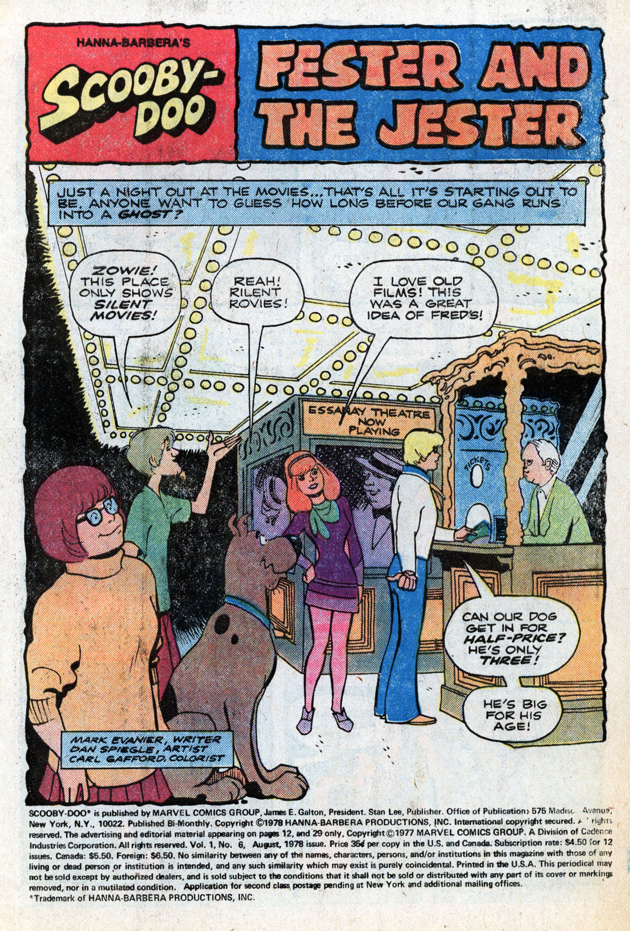 Read online Scooby-Doo (1977) comic -  Issue #6 - 3
