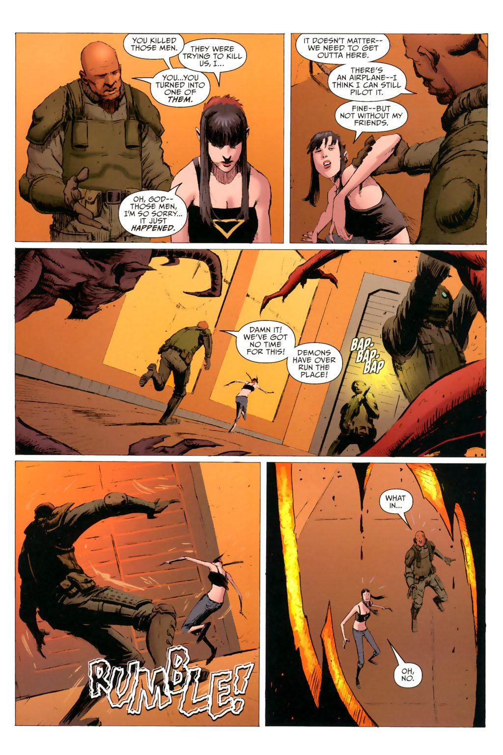 Strange Girl Issue #8 #9 - English 13