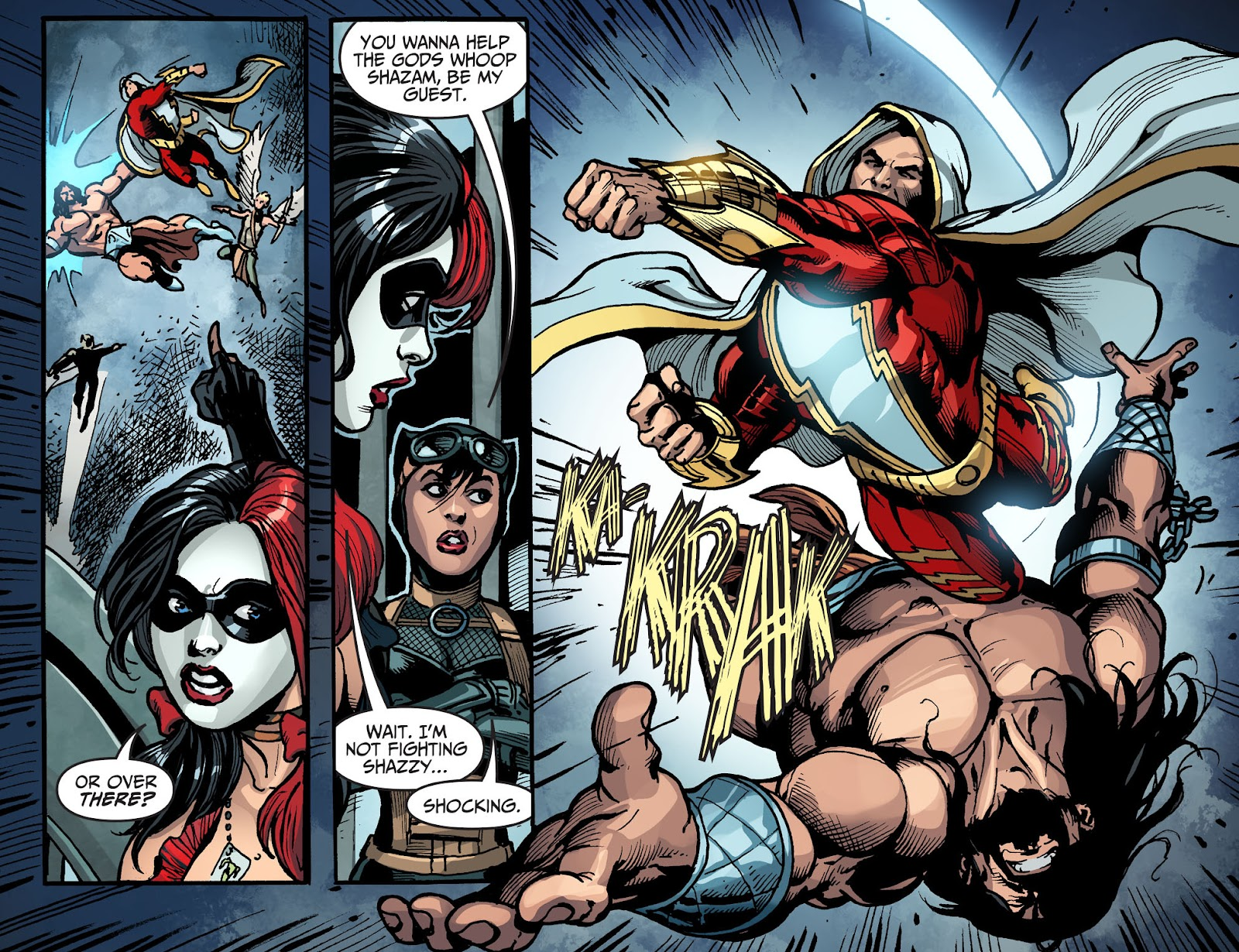 Injustice: Gods Among Us Year Four Issue #14 #15 - English 17