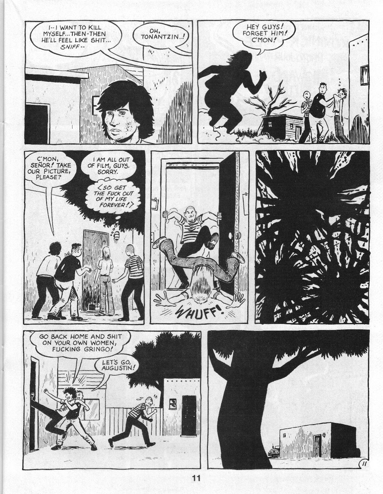 Love and Rockets (1982) Issue #14 #13 - English 13
