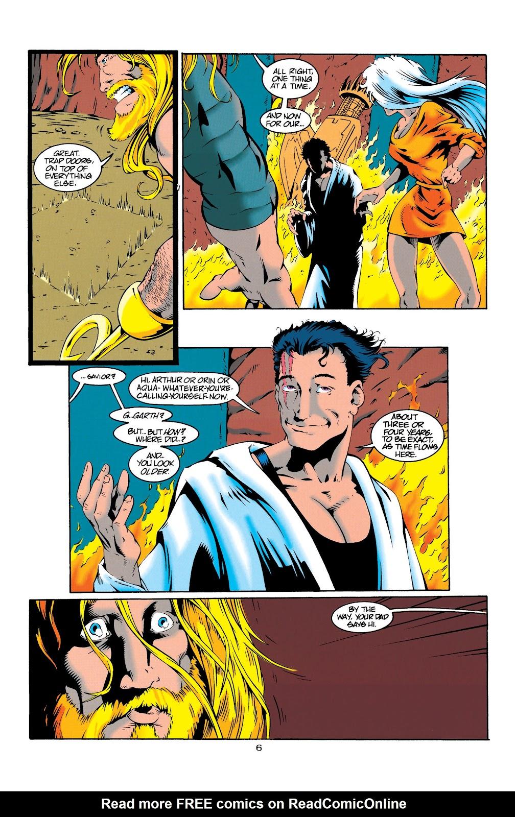 Aquaman (1994) Issue #20 #26 - English 6