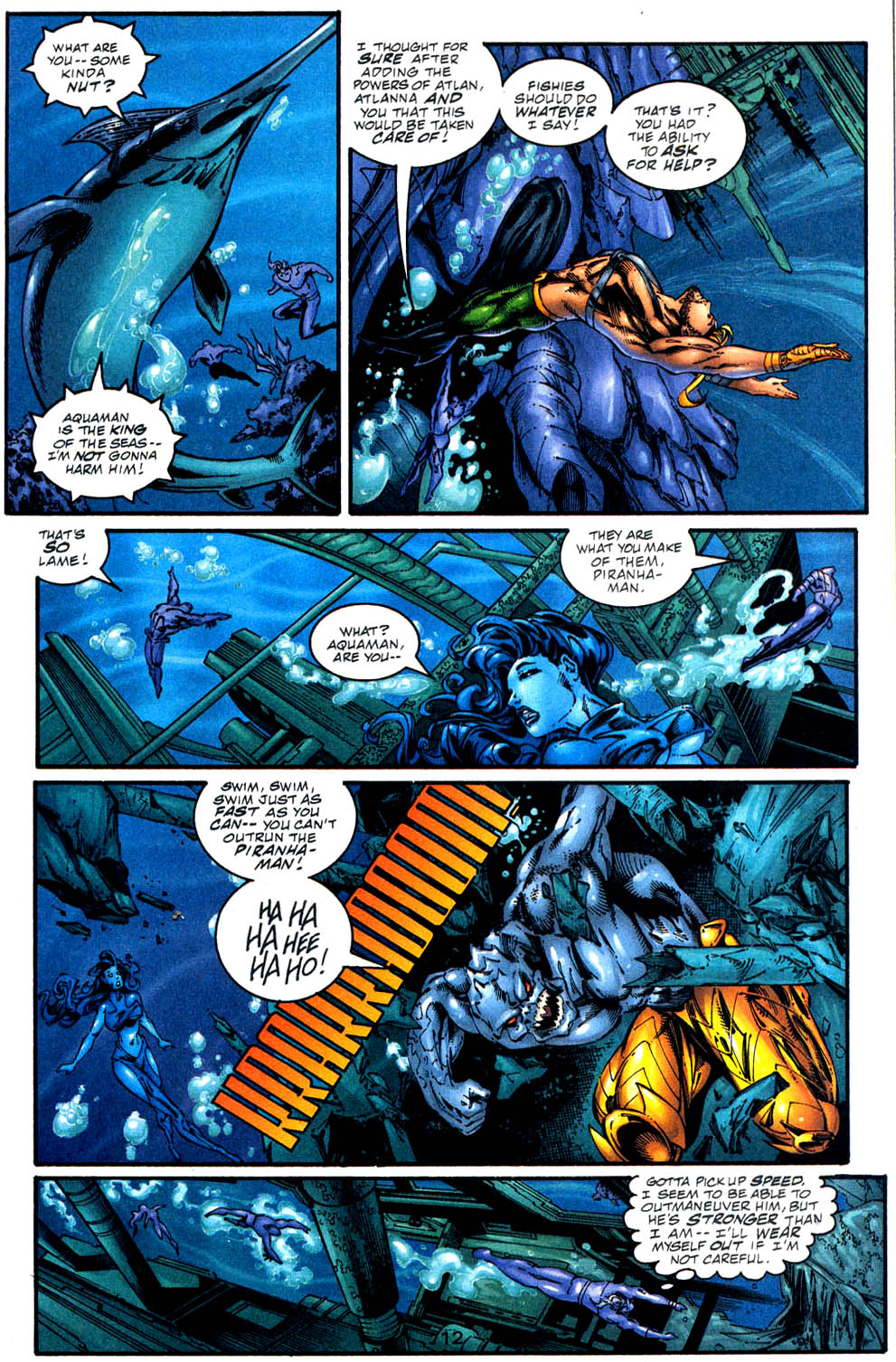 Aquaman (1994) Issue #57 #63 - English 13