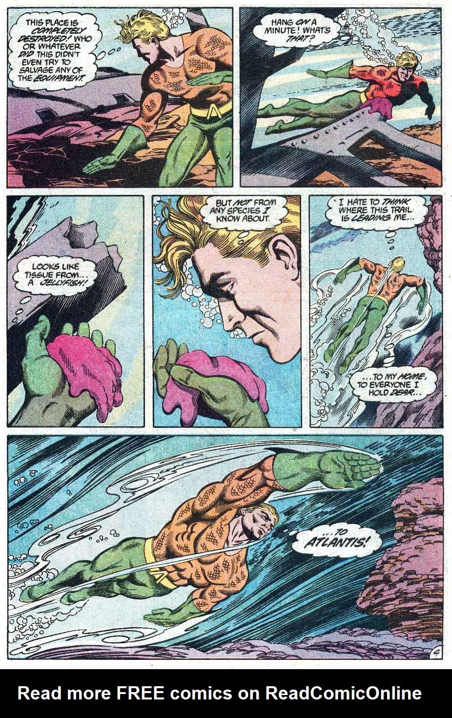 Aquaman (1989) Issue #1 #1 - English 5