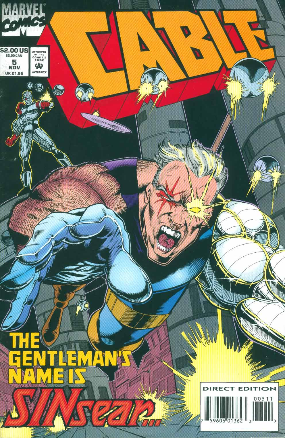 Cable (1993) 5 Page 1