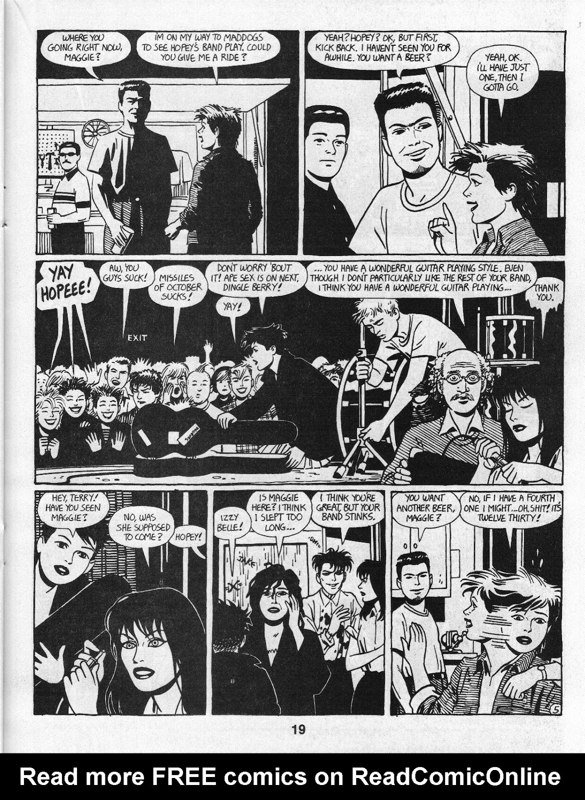 Love and Rockets (1982) Issue #14 #13 - English 21