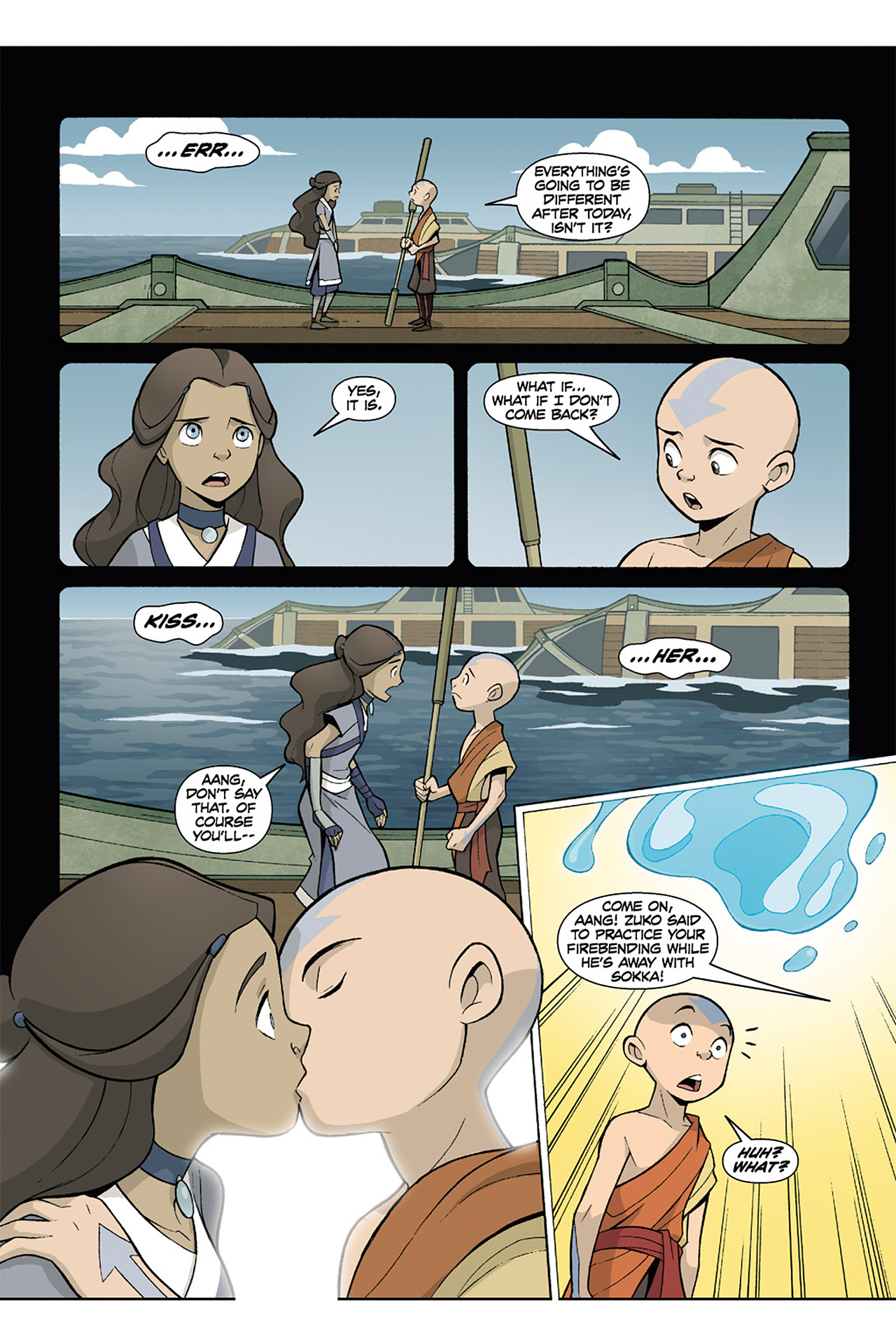 Nickelodeon Avatar: The Last Airbender - The Lost Adventures chap full pic 192