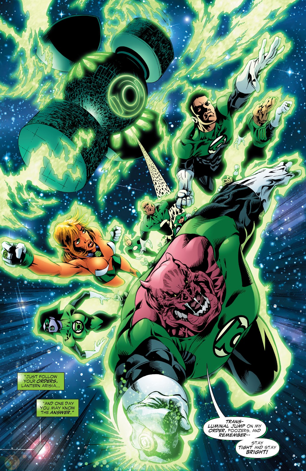 Green Lantern: The Sinestro Corps War Full #1 - English 88