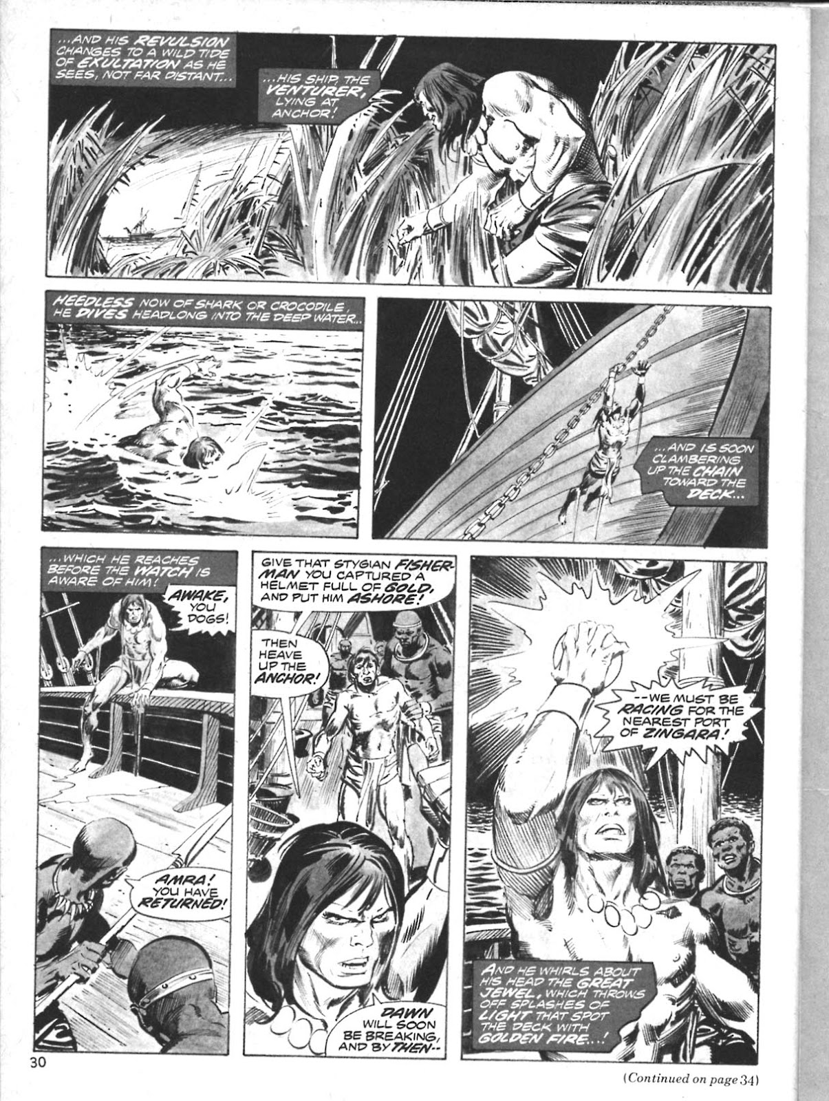 The Savage Sword Of Conan Issue #10 #11 - English 25