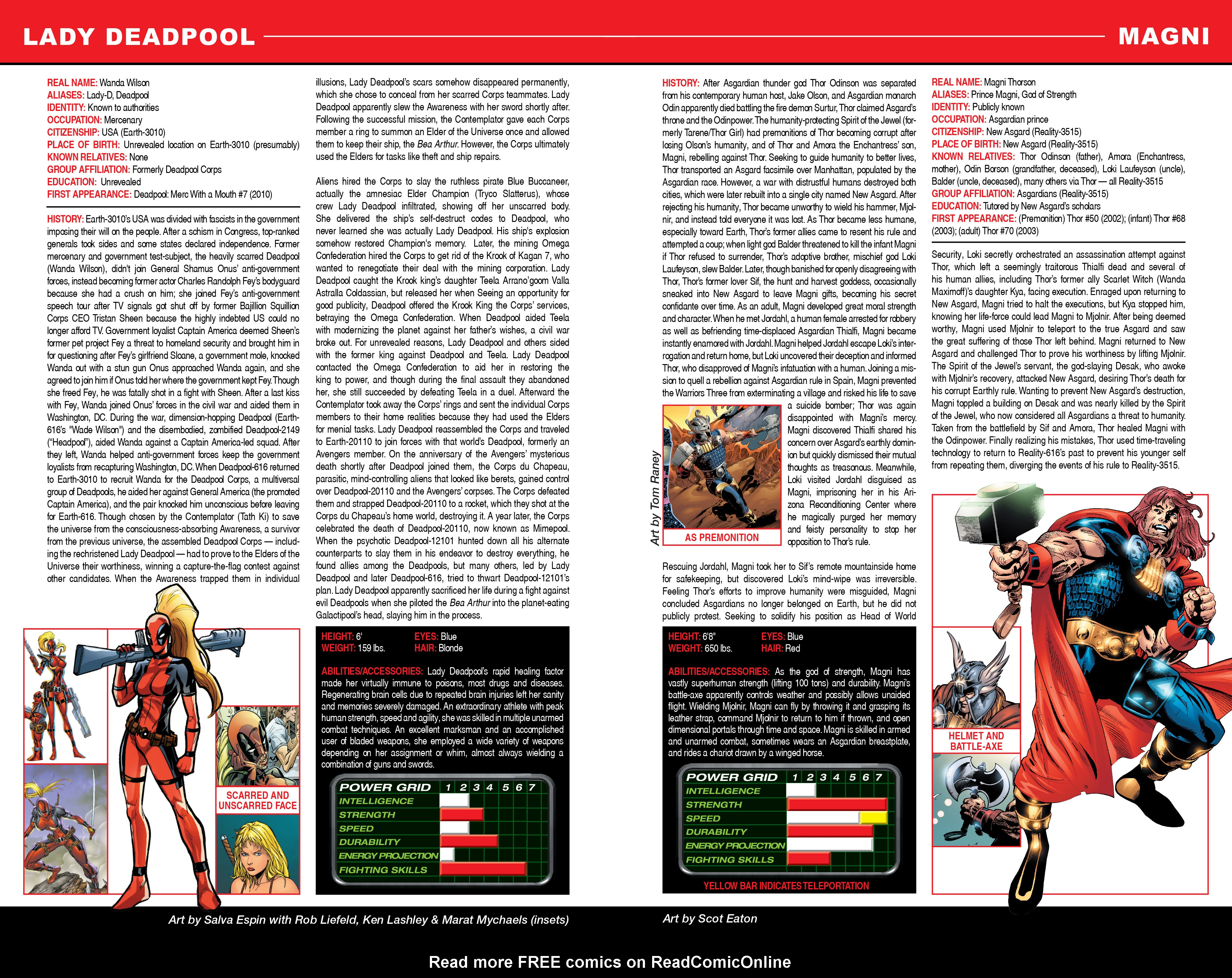 Read online Secret Wars: Official Guide to the Marvel Multiverse comic -  Issue # Full - 13