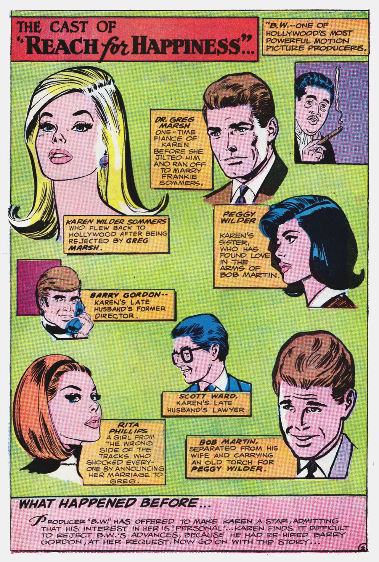 Read online Secret Hearts comic -  Issue #132 - 18