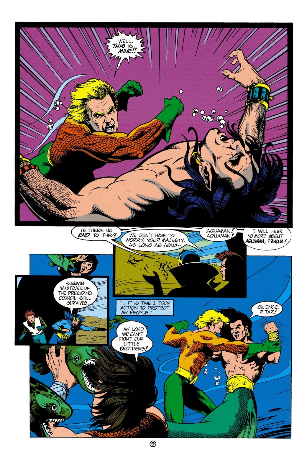 Aquaman (1991) Issue #4 #4 - English 10