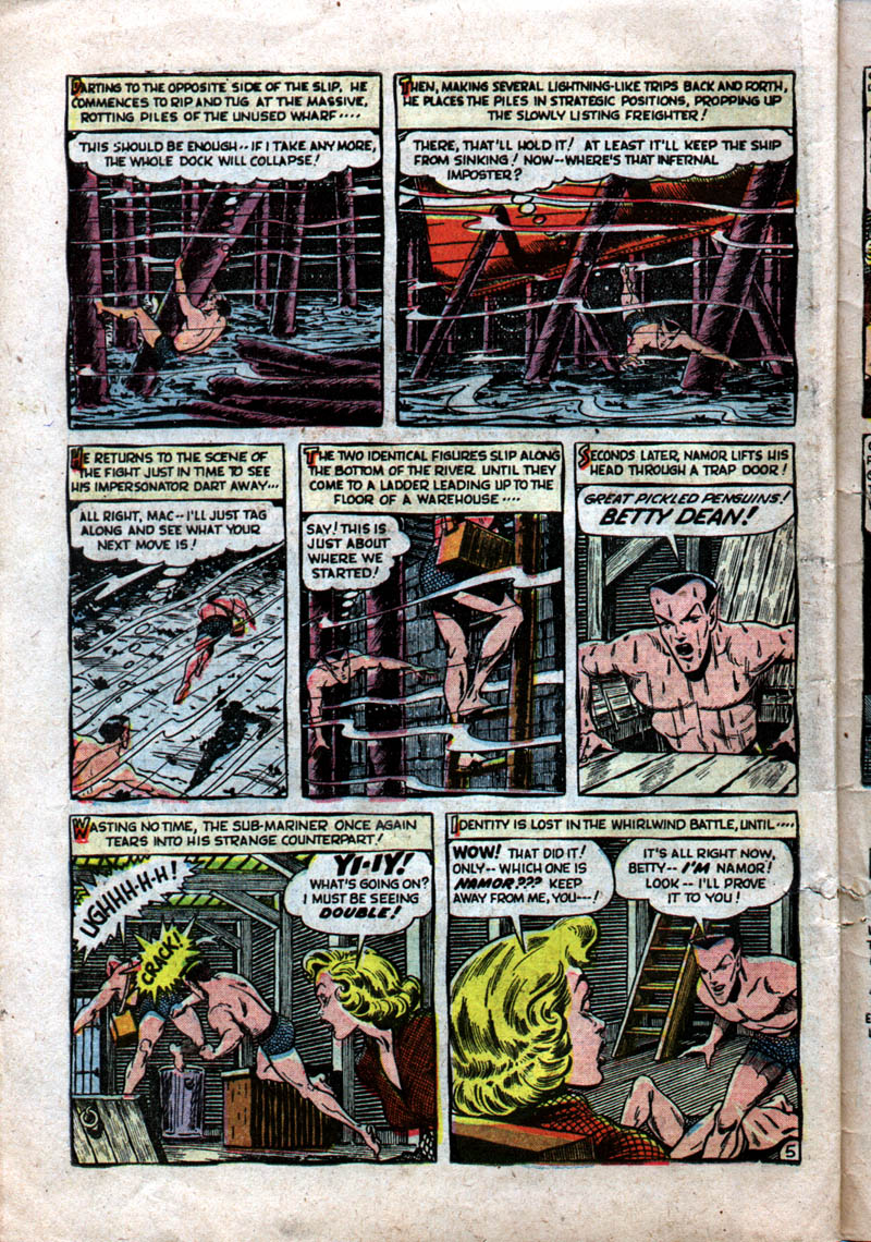 Sub-Mariner Comics #37 #37 - English 30