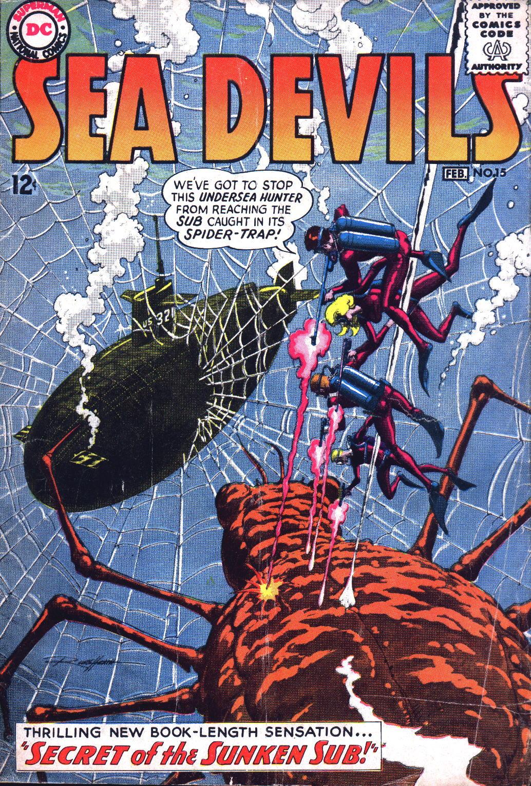 Read online Sea Devils comic -  Issue #15 - 1