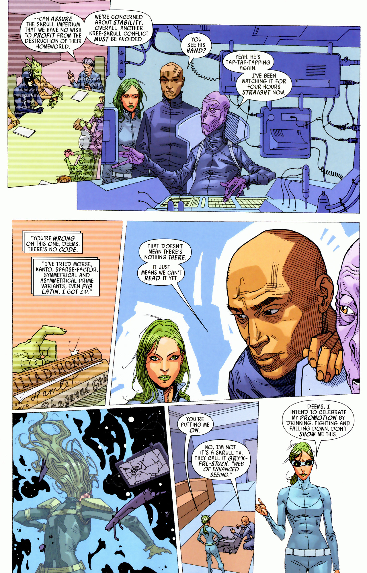 Read online Secret Invasion: Who Do You Trust? comic -  Issue # Full - 15