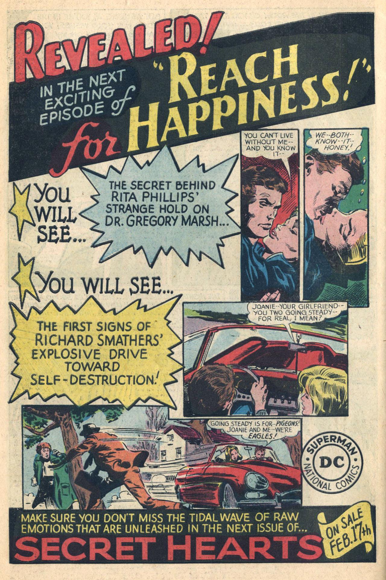 Read online Secret Hearts comic -  Issue #110 - 34