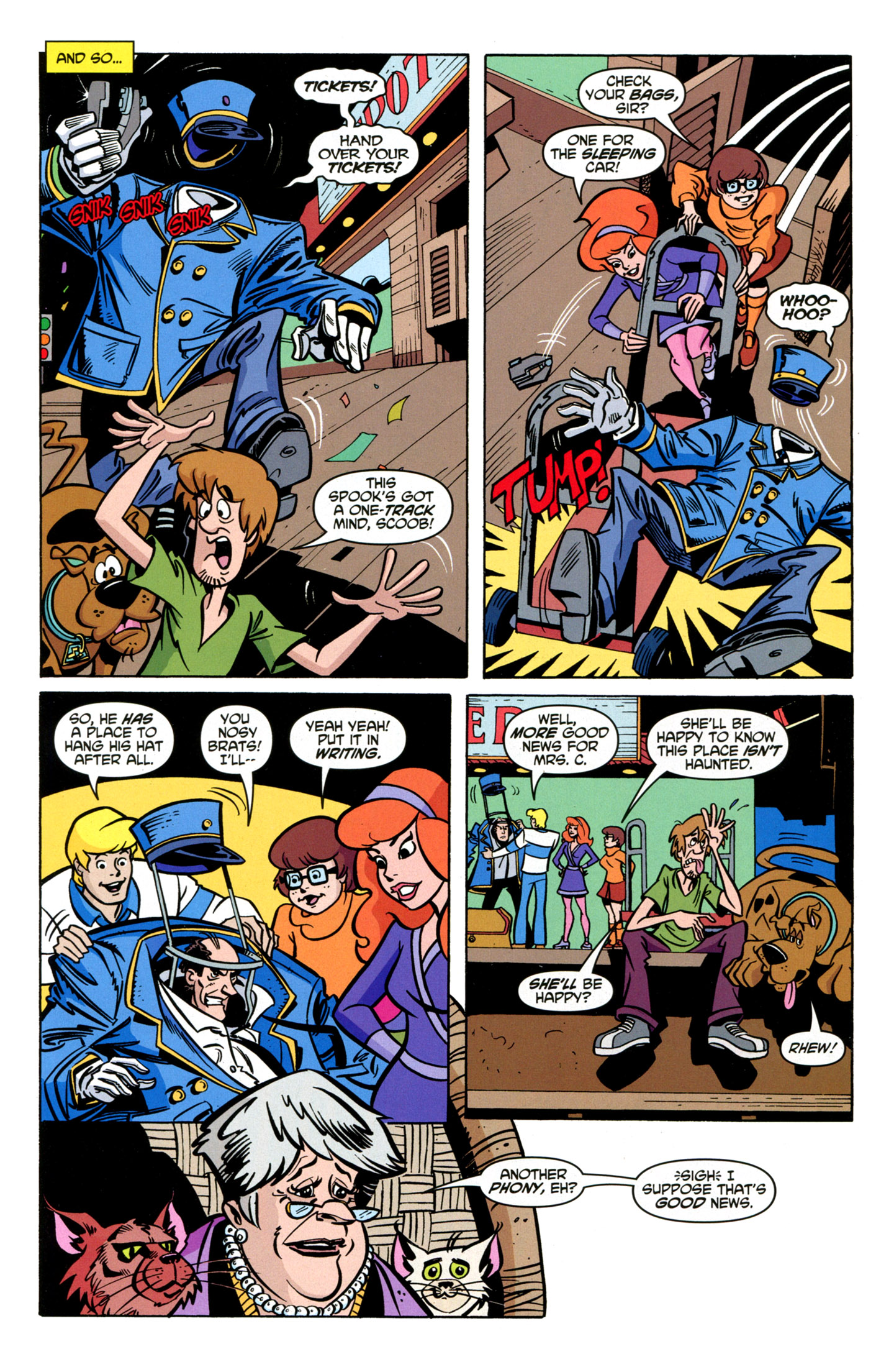Read online Scooby-Doo: Where Are You? comic -  Issue #19 - 19