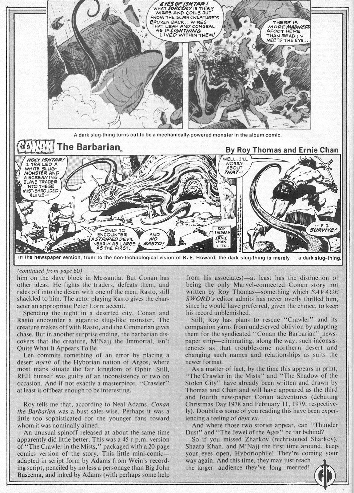 The Savage Sword Of Conan Issue #40 #41 - English 66