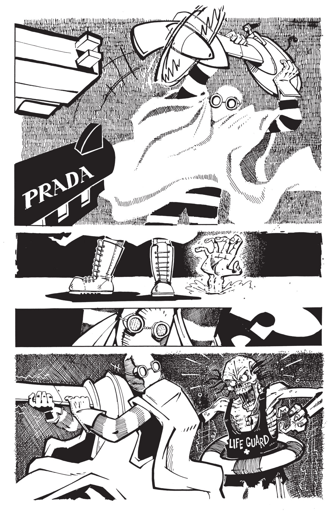 Read online Scud: The Disposable Assassin: The Whole Shebang comic -  Issue # TPB (Part 3) - 124