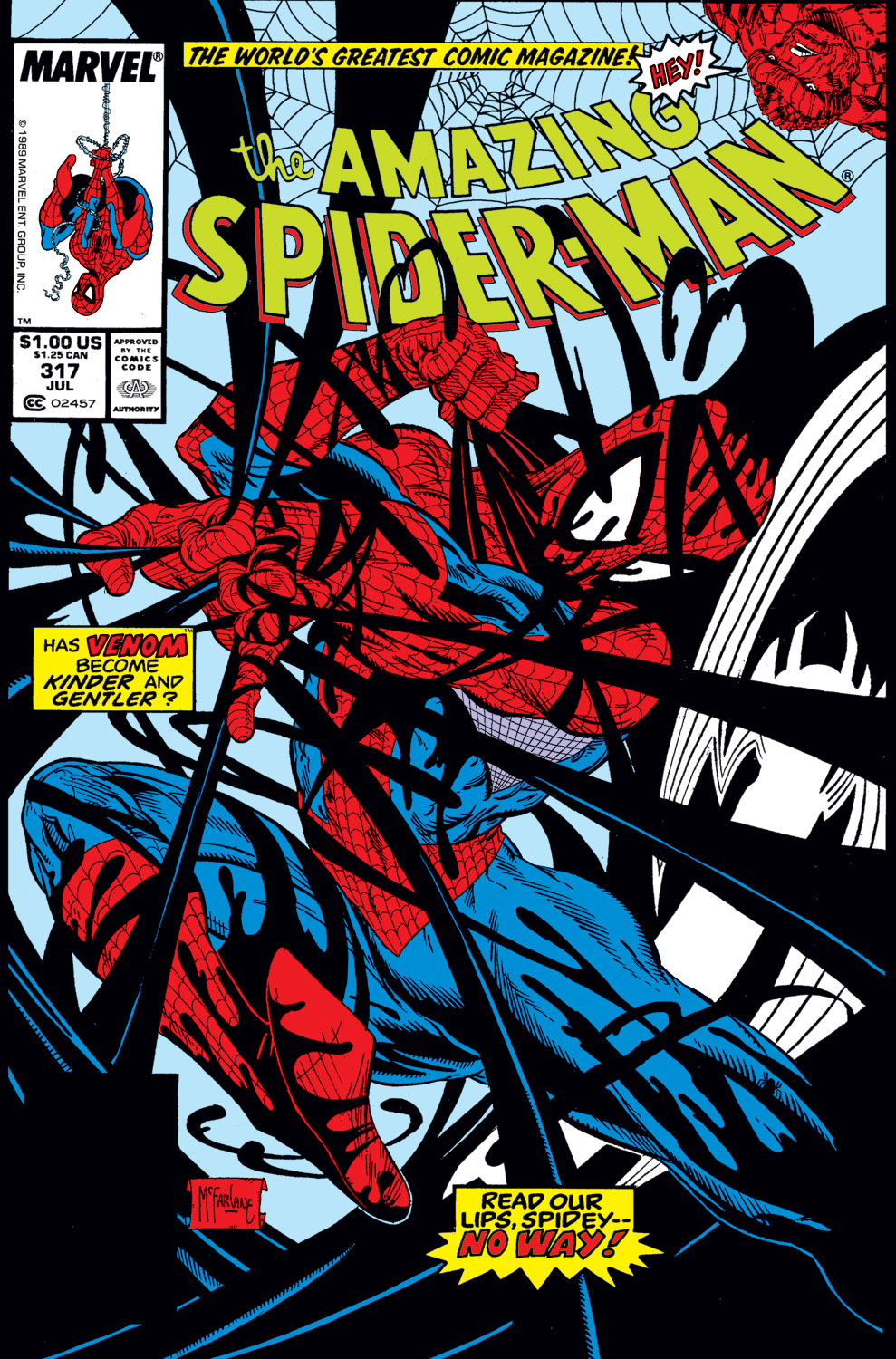 The Amazing Spider-Man (1963) 317 Page 1
