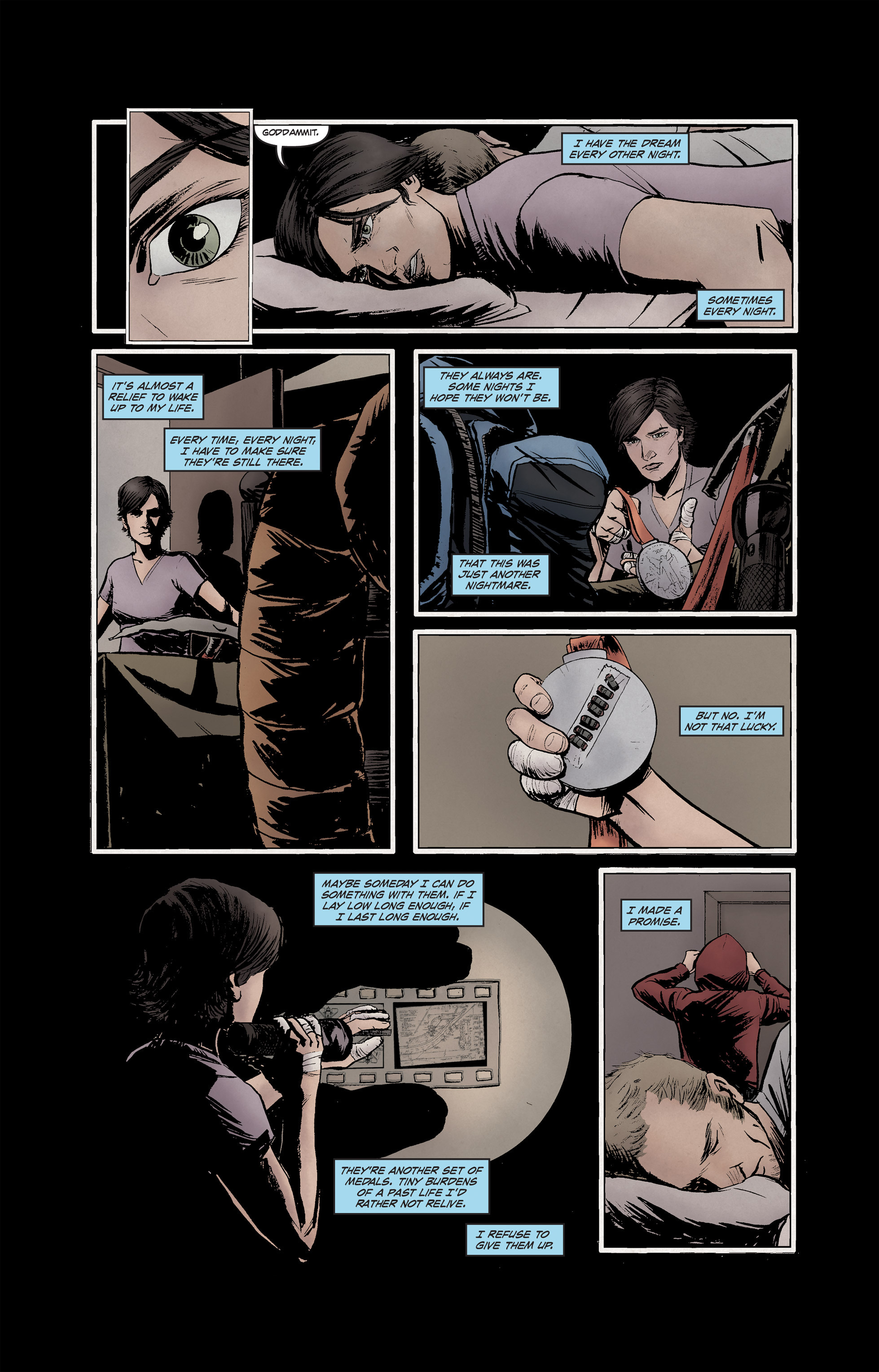 Read online High Crimes comic -  Issue #12 - 16