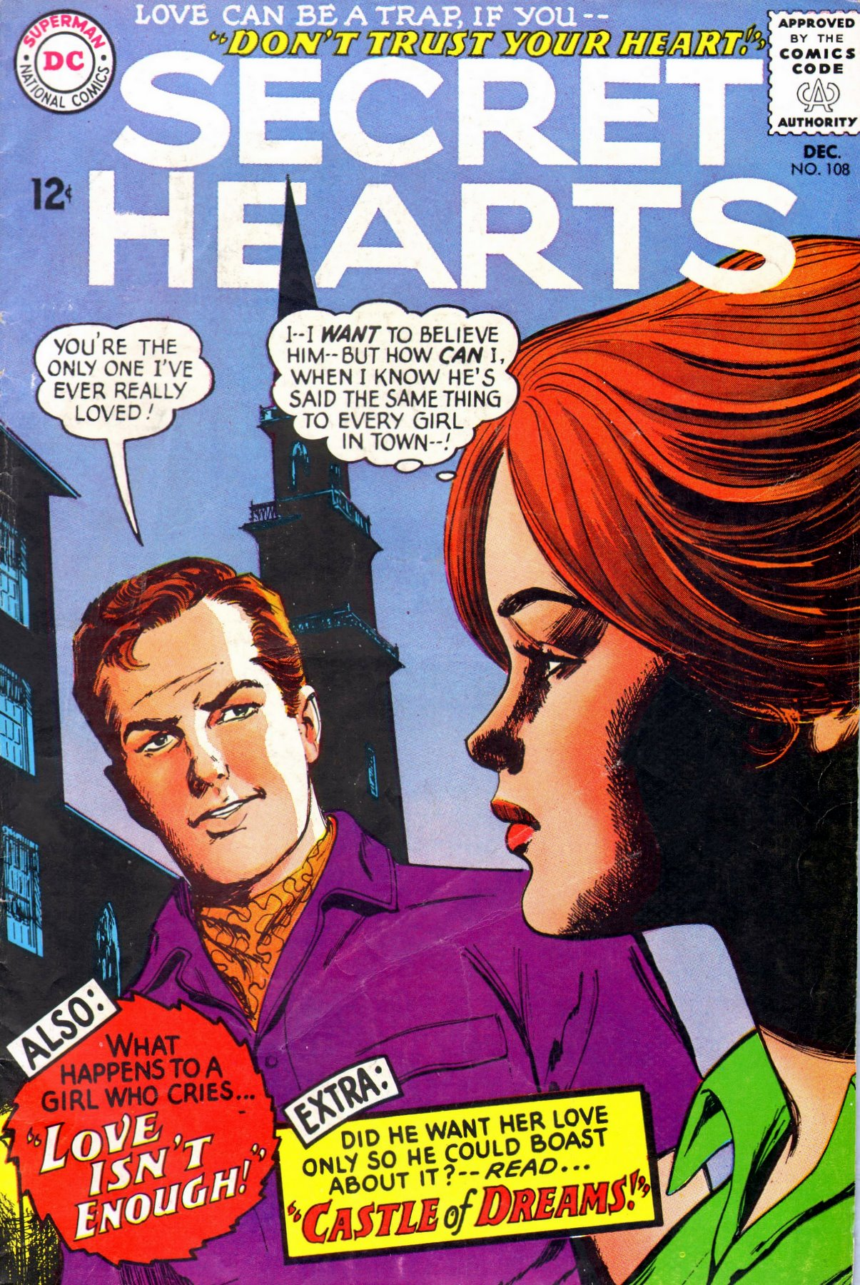 Read online Secret Hearts comic -  Issue #108 - 1