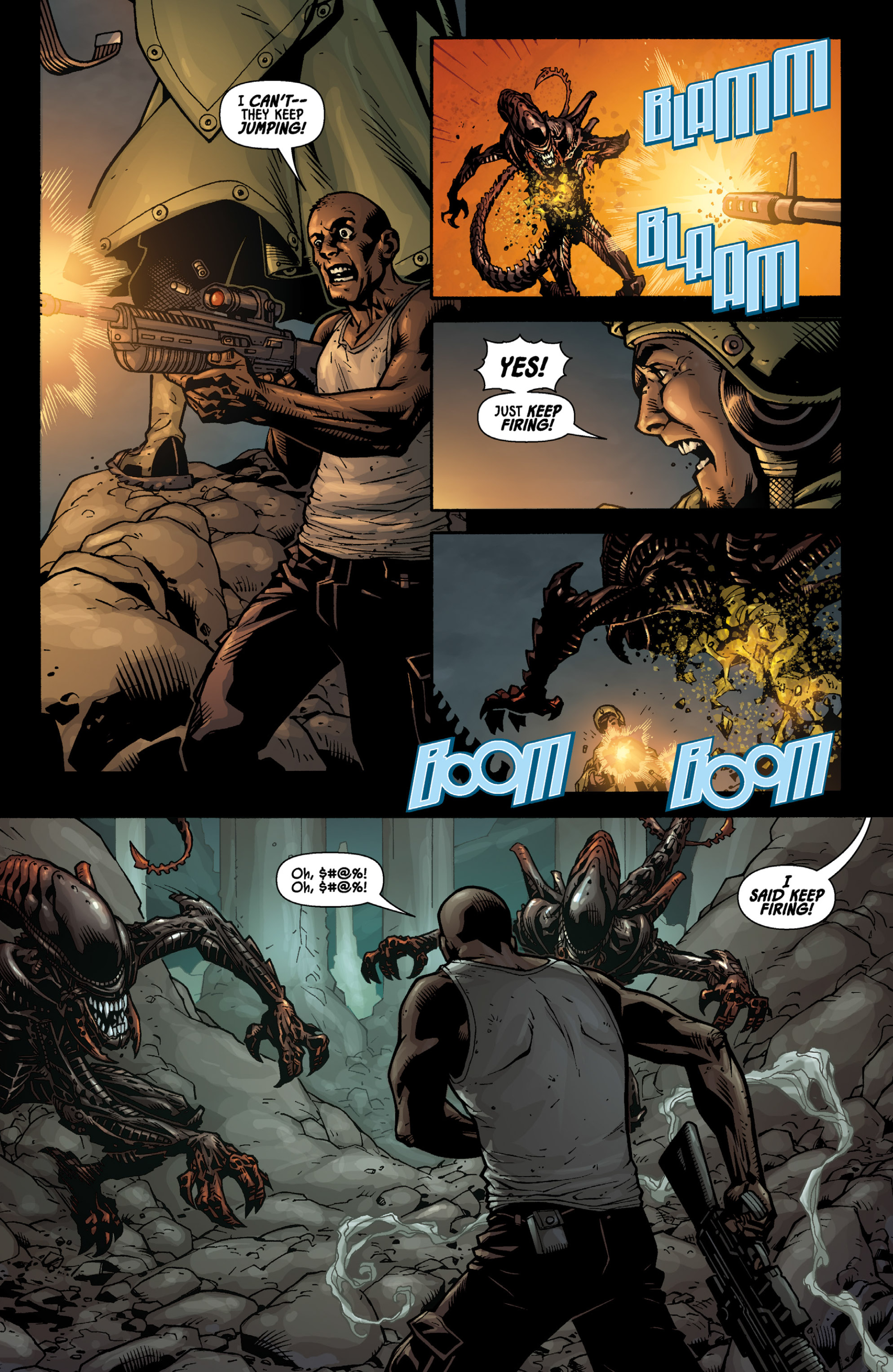 Aliens (2009) TPB Page 61