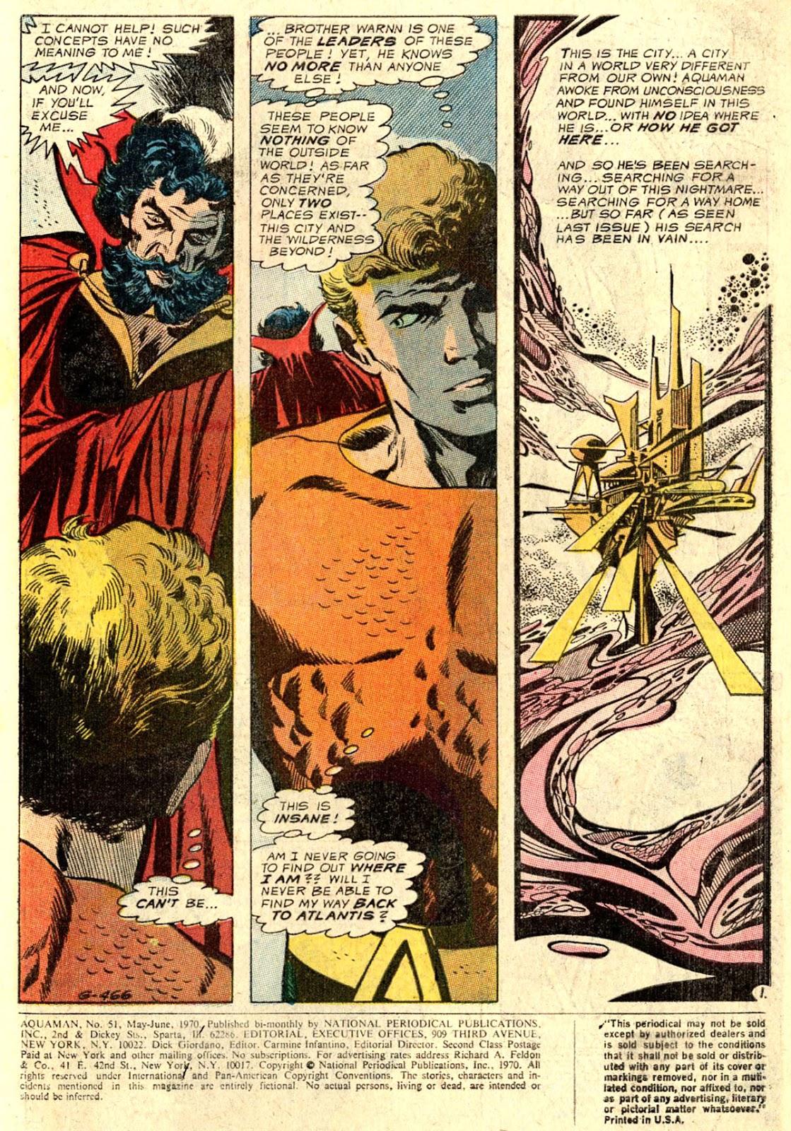 Aquaman (1962) Issue #51 #51 - English 3