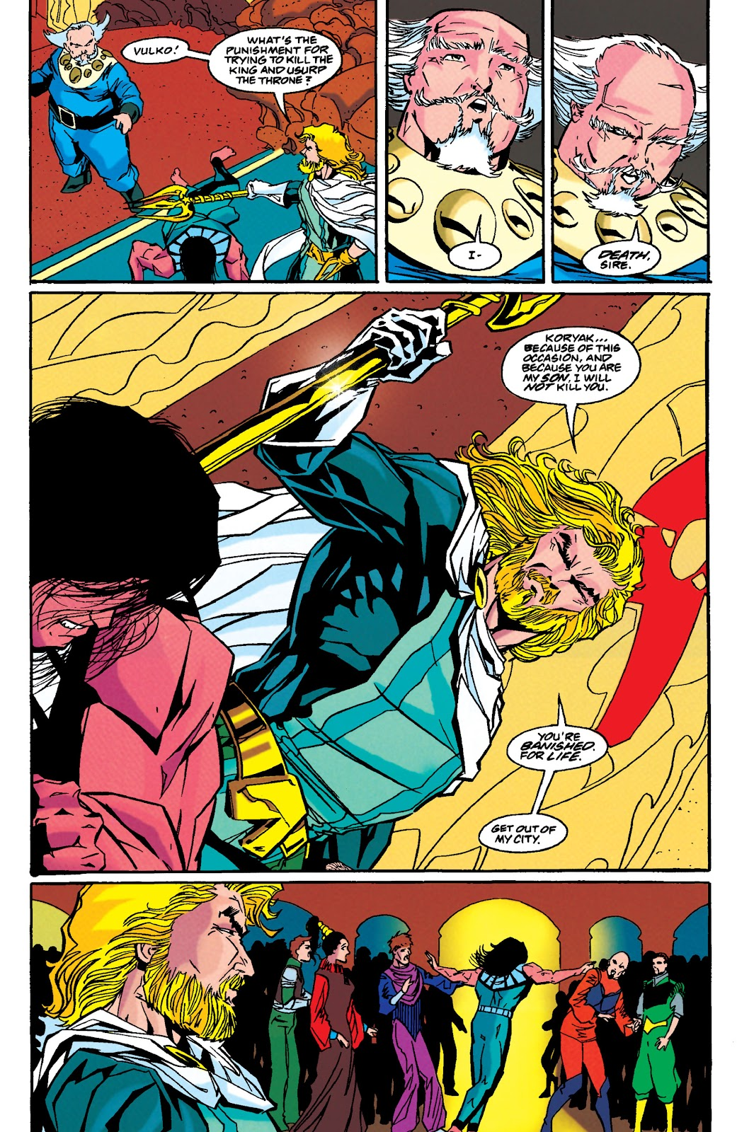 Aquaman (1994) Issue #49 #55 - English 22
