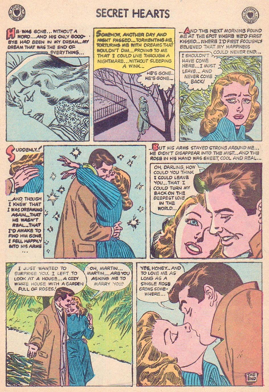 Read online Secret Hearts comic -  Issue #44 - 9
