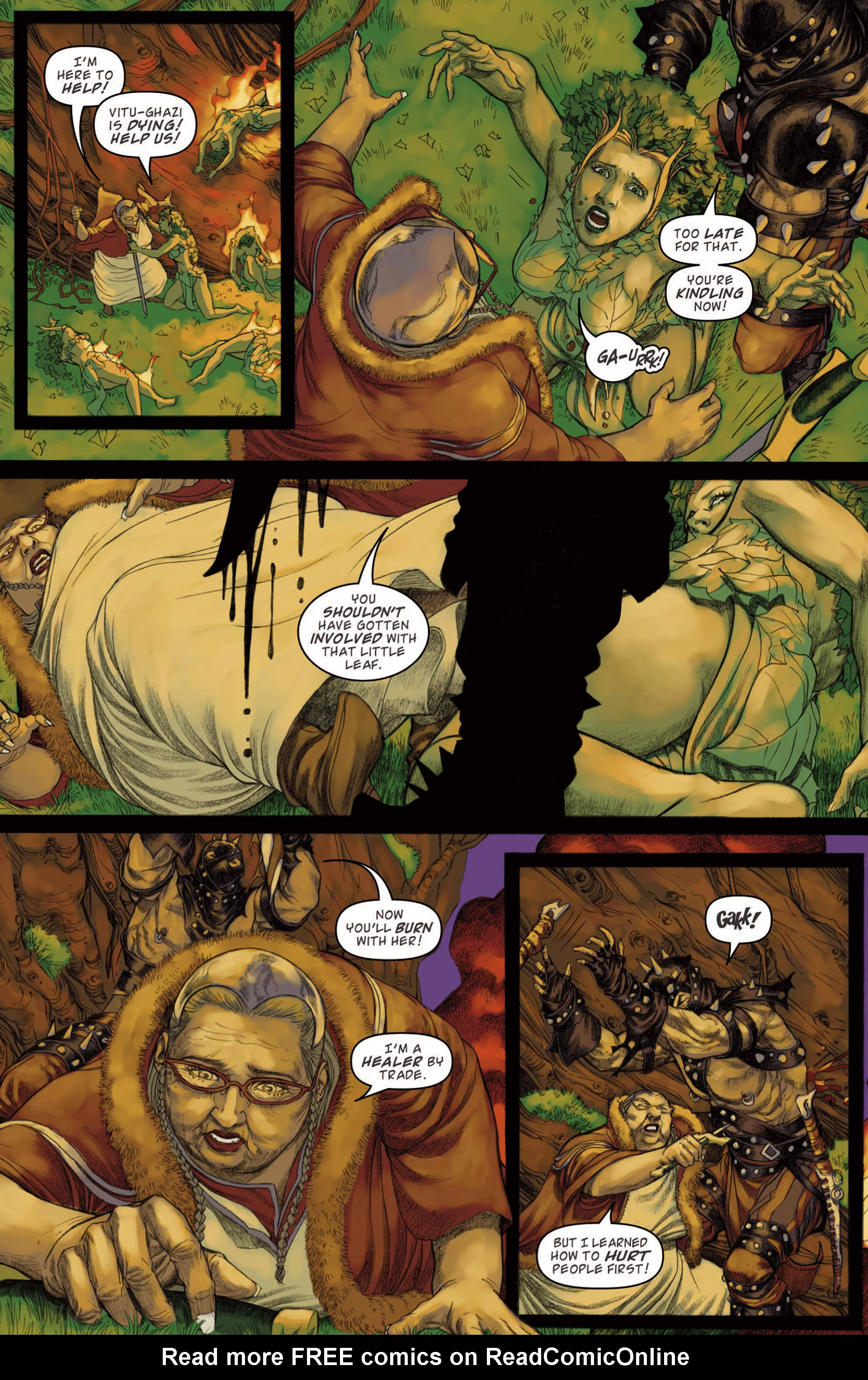 Read online Magic: The Gathering--Path of Vengeance comic -  Issue #4 - 10