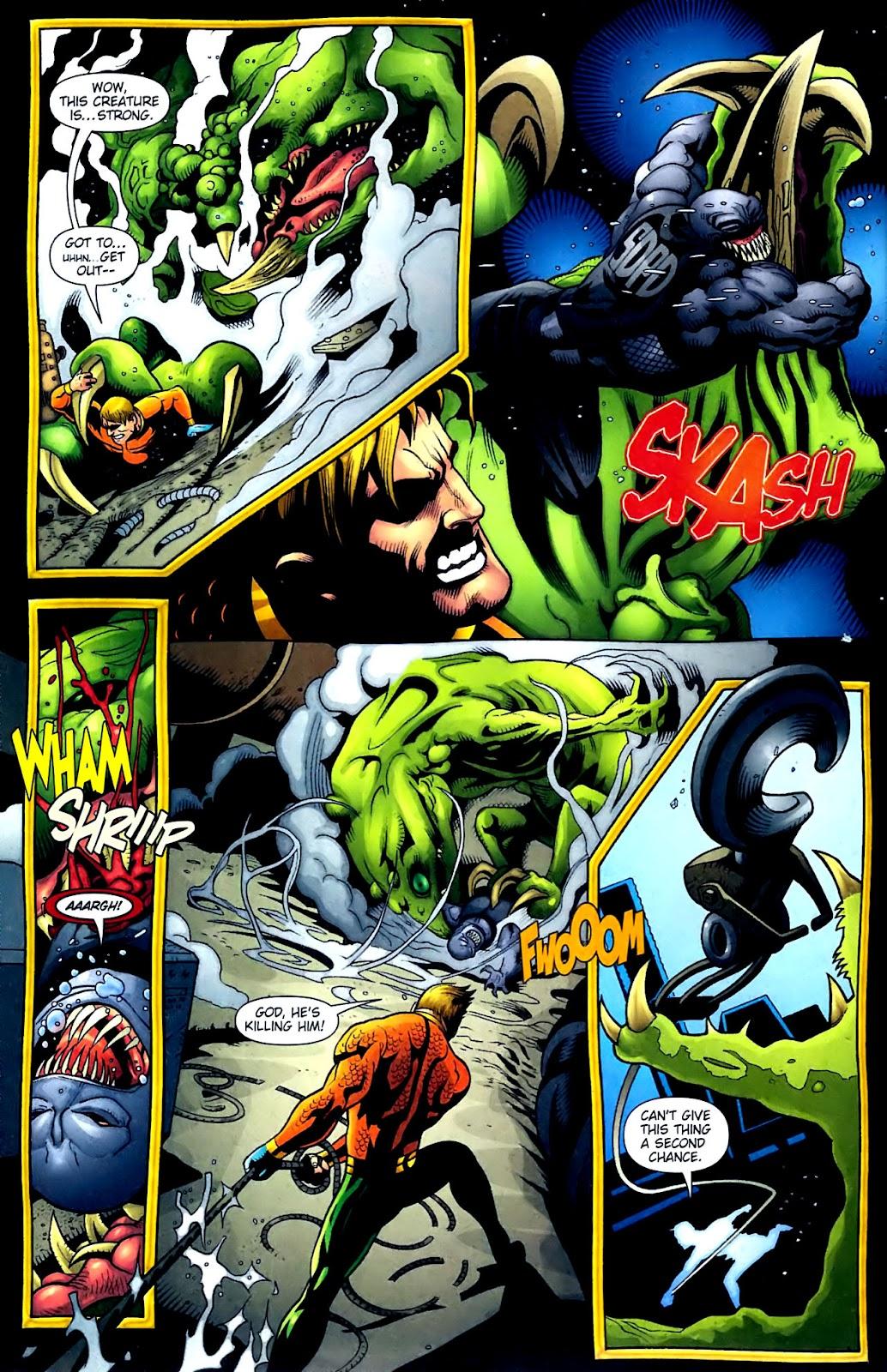 Aquaman (2003) Issue #32 #32 - English 13