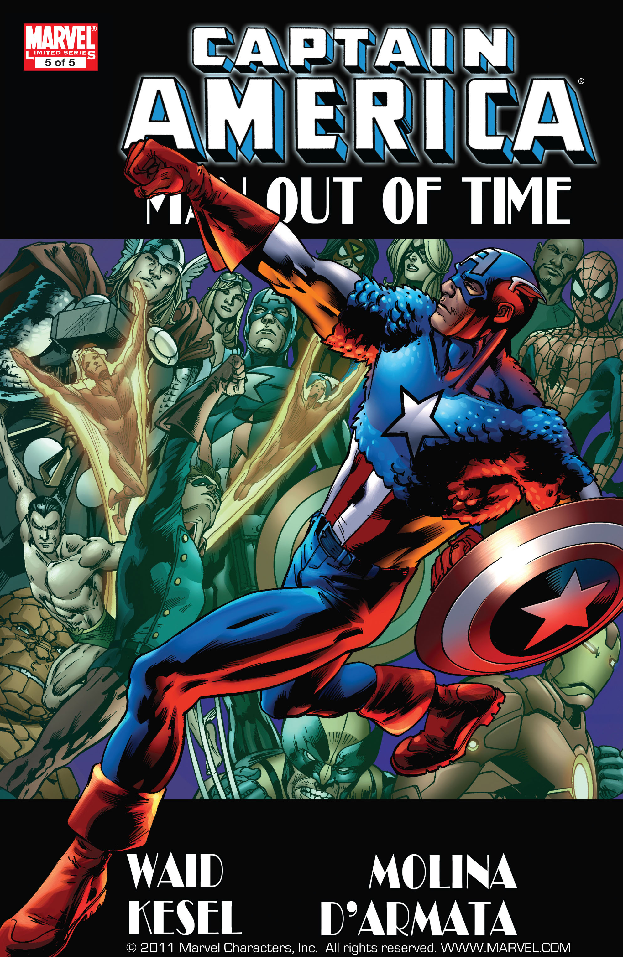 Captain America: Man Out of Time  issue 5 - Page 1