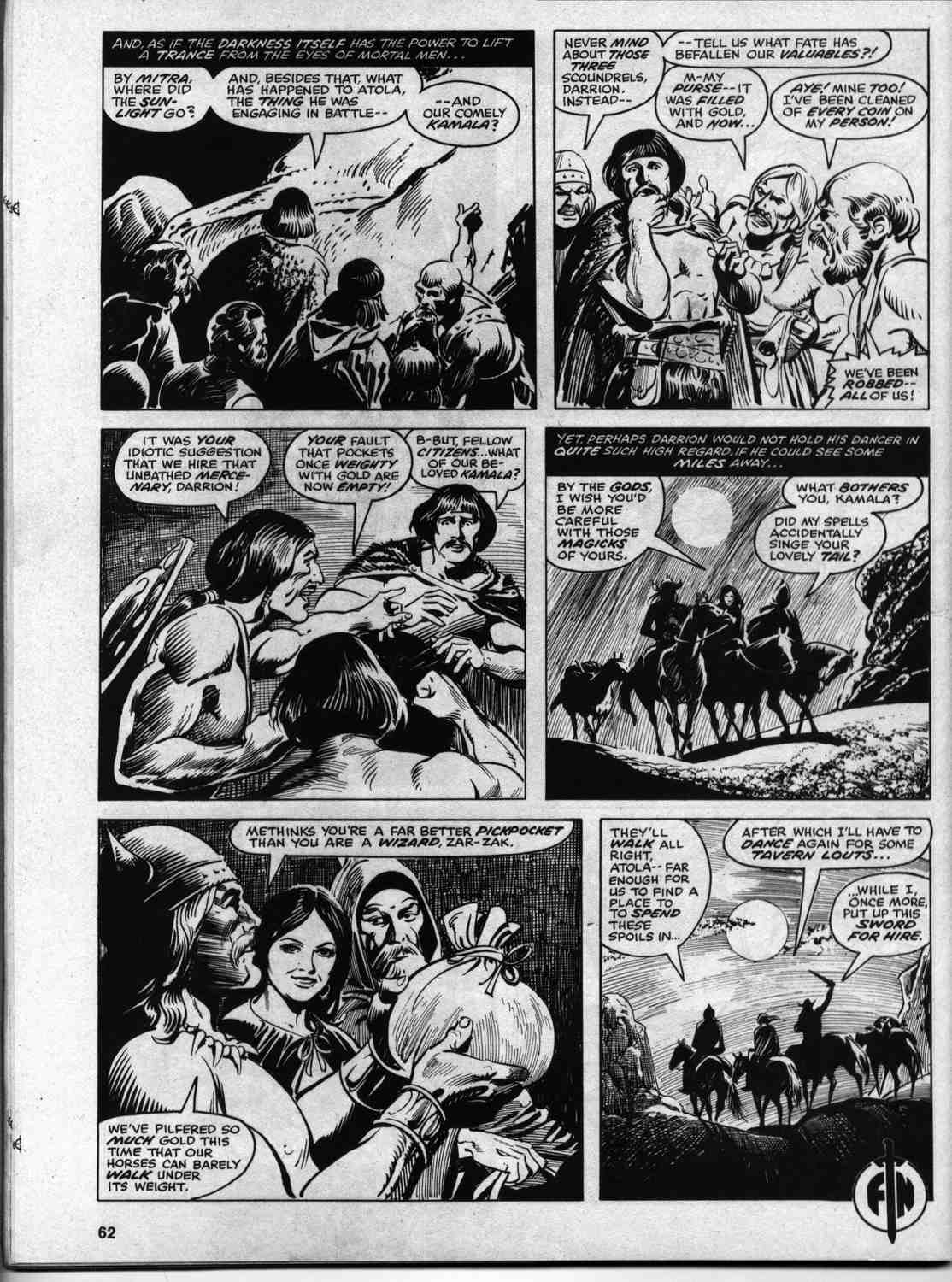 The Savage Sword Of Conan Issue #46 #47 - English 60
