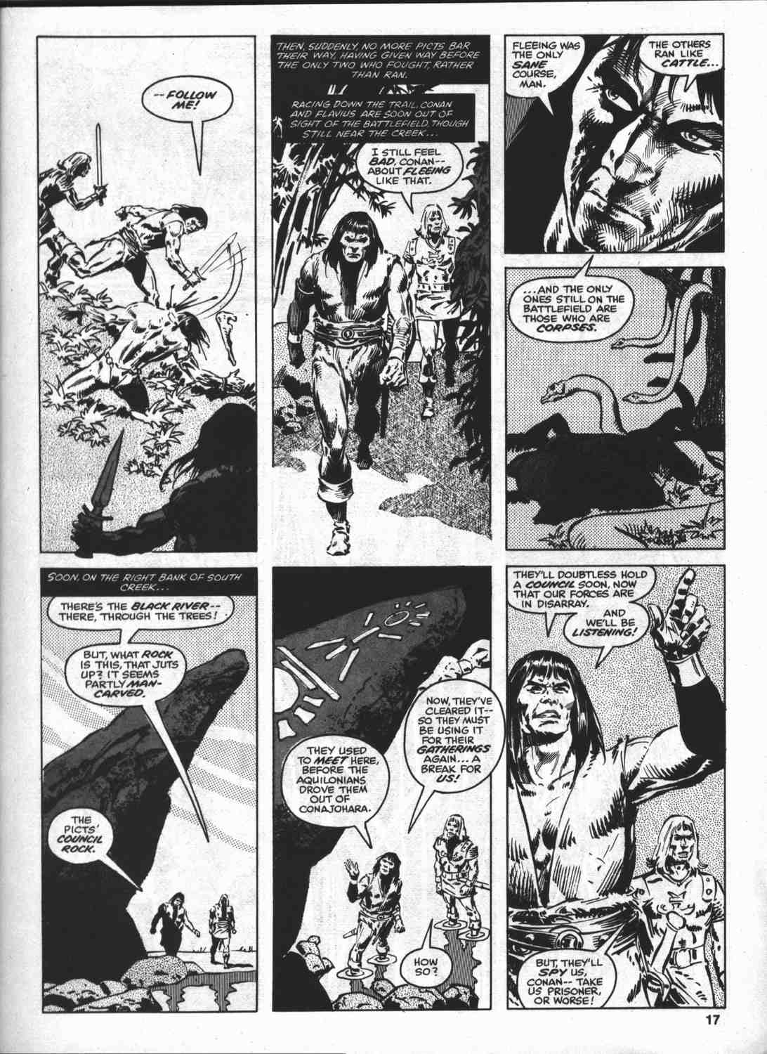 The Savage Sword Of Conan Issue #46 #47 - English 16