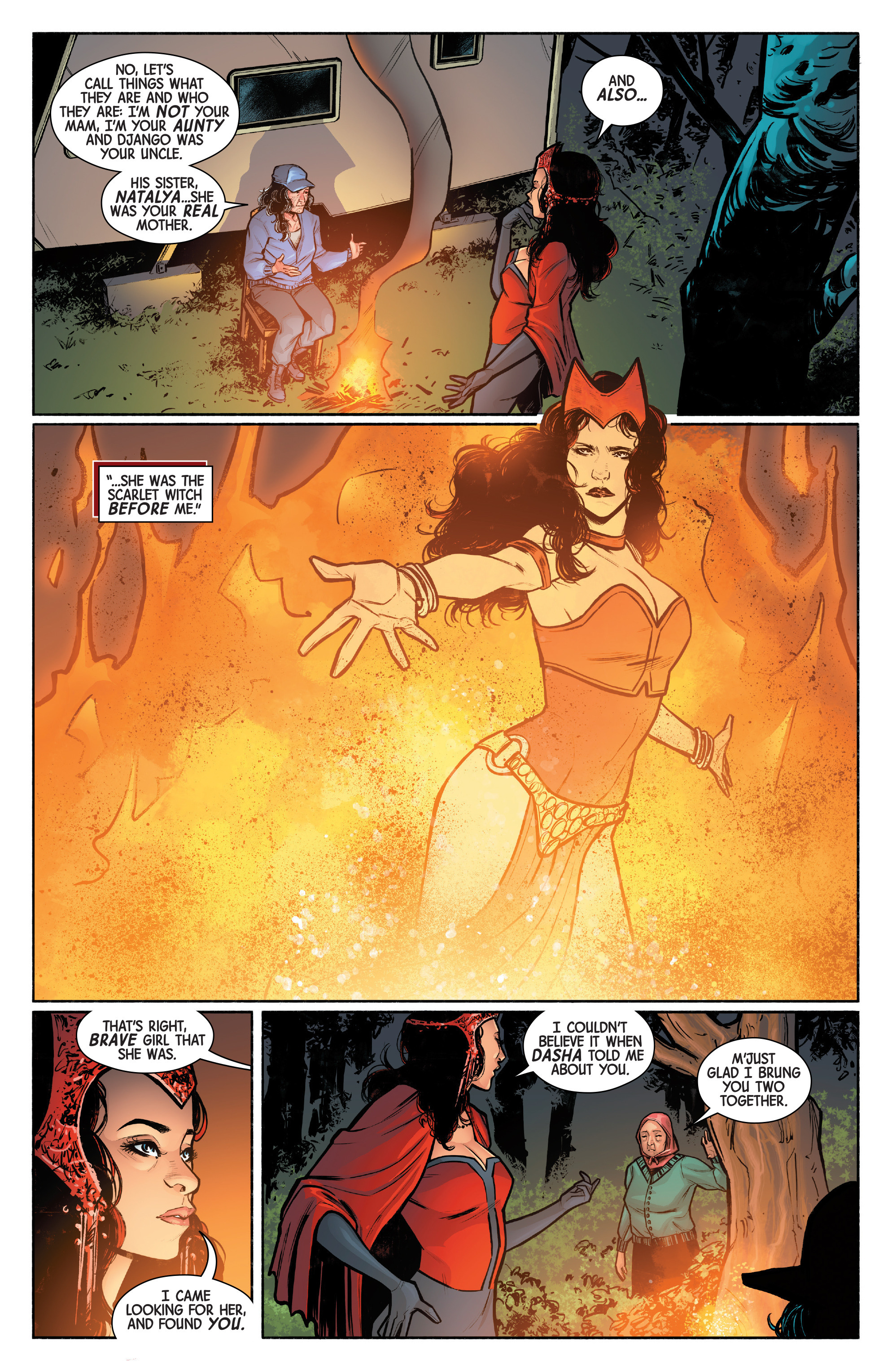 Read online Scarlet Witch (2016) comic -  Issue #12 - 5