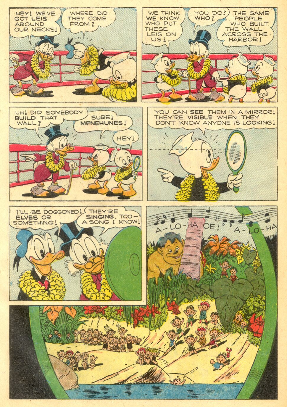 Uncle Scrooge (1953) Issue #4 #4 - English 34