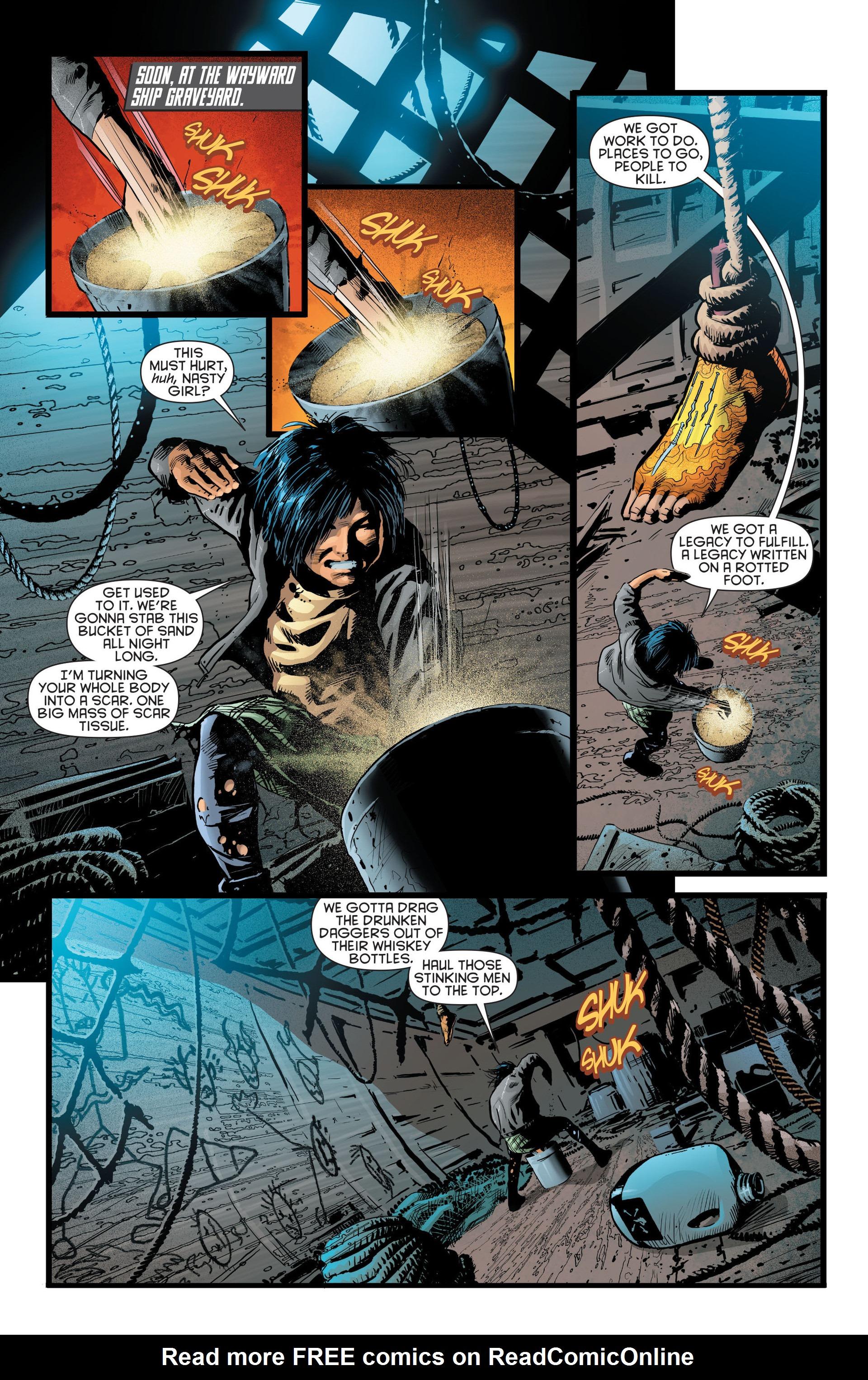 Read online Katana comic -  Issue #8 - 14