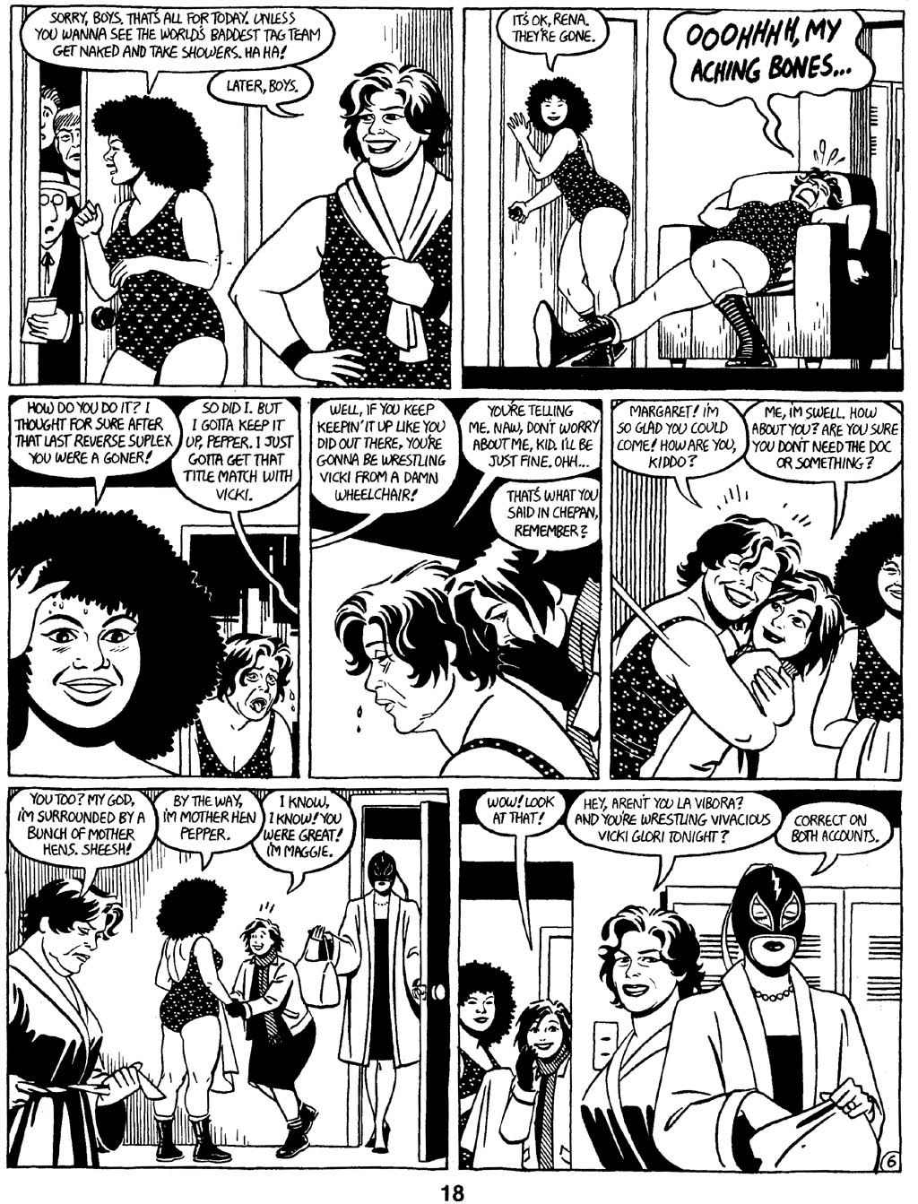 Love and Rockets (1982) Issue #16 #15 - English 20