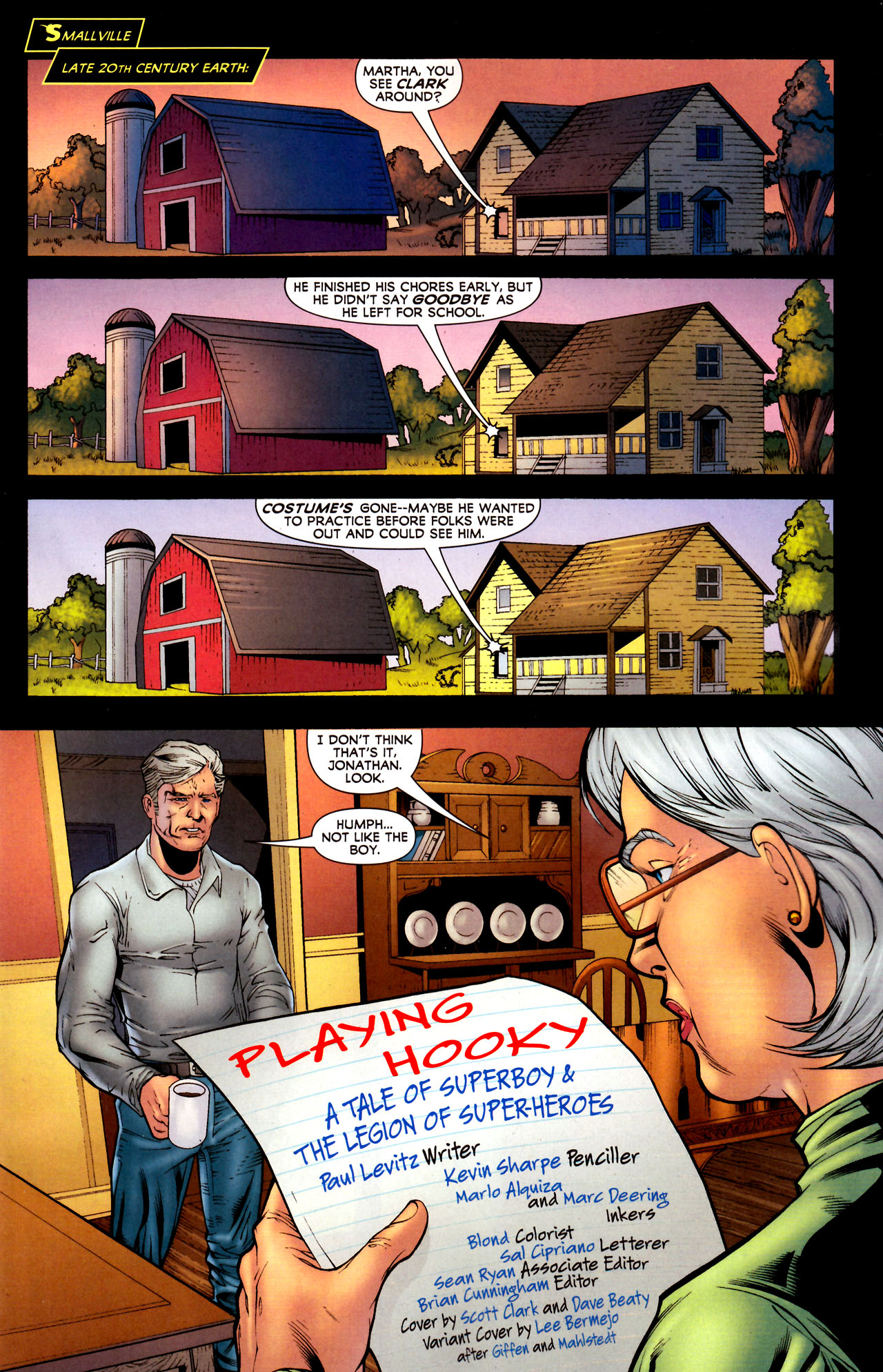 Read online Adventure Comics (2009) comic -  Issue #12 - 2