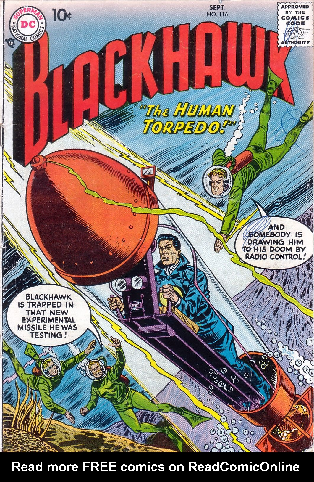 Blackhawk (1957) 116 Page 1