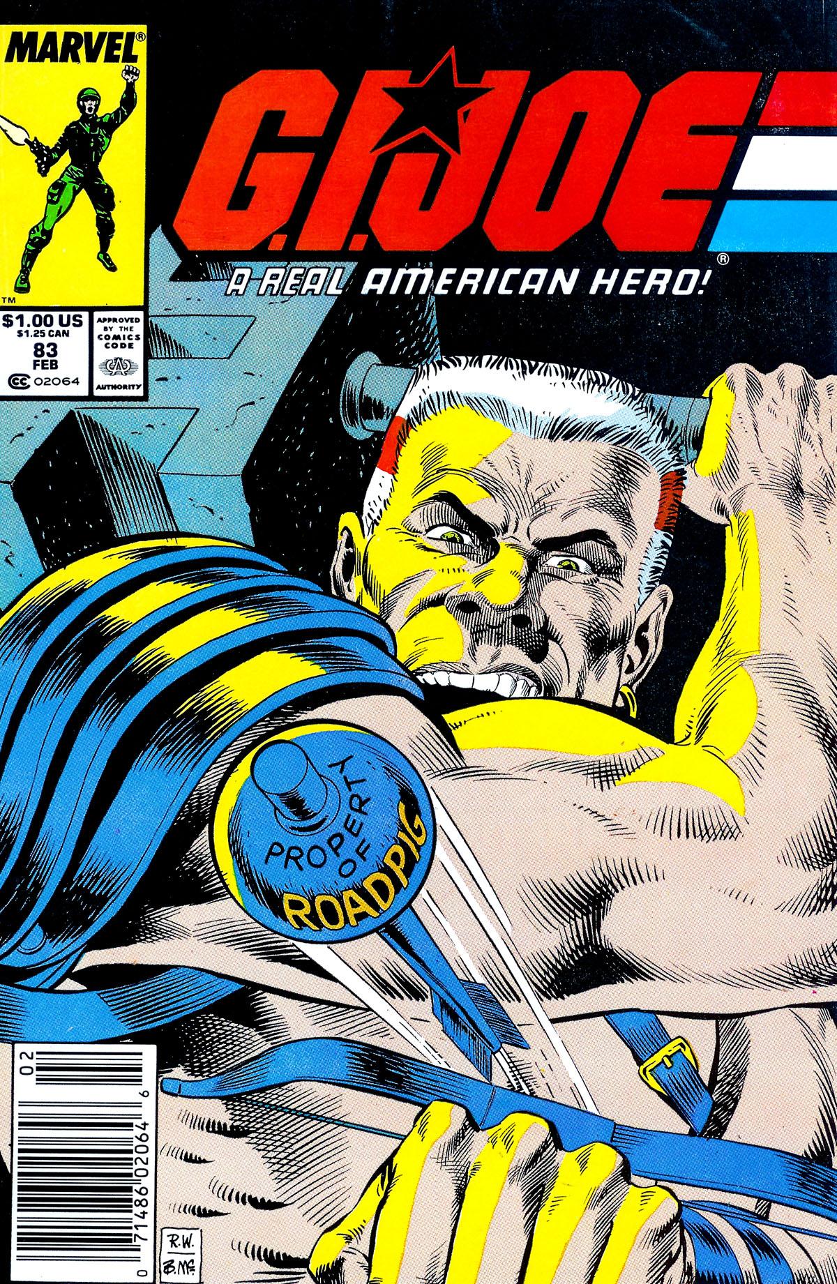 G.I. Joe: A Real American Hero 83 Page 1