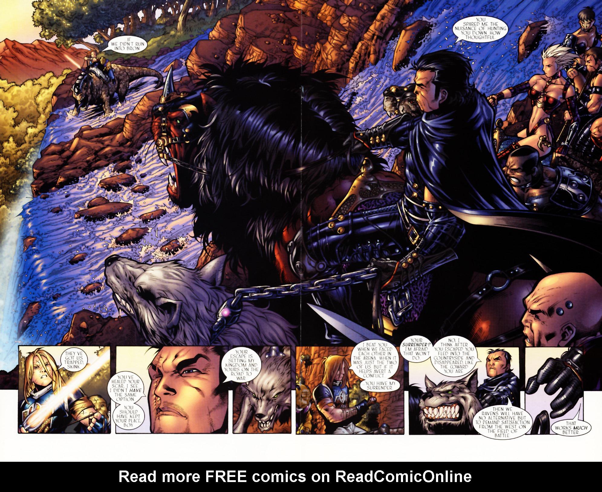 Read online Scion comic -  Issue #3 - 18