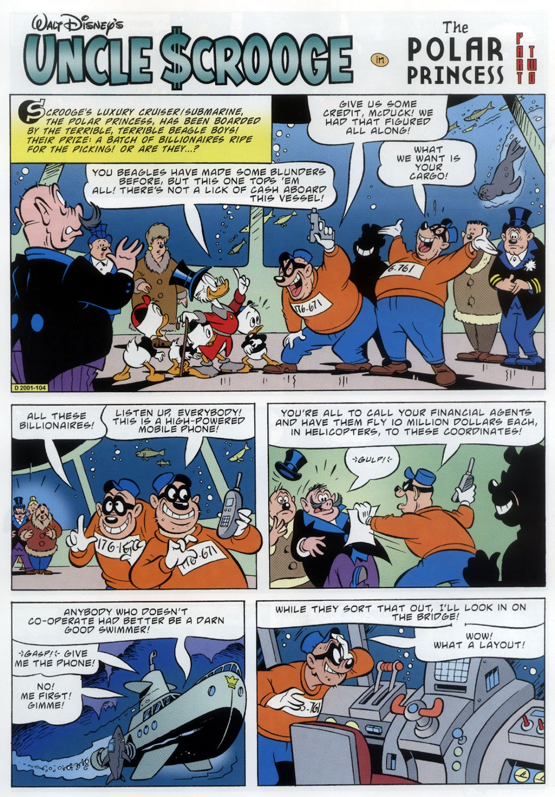 Uncle Scrooge (1953) Issue #333 #333 - English 11