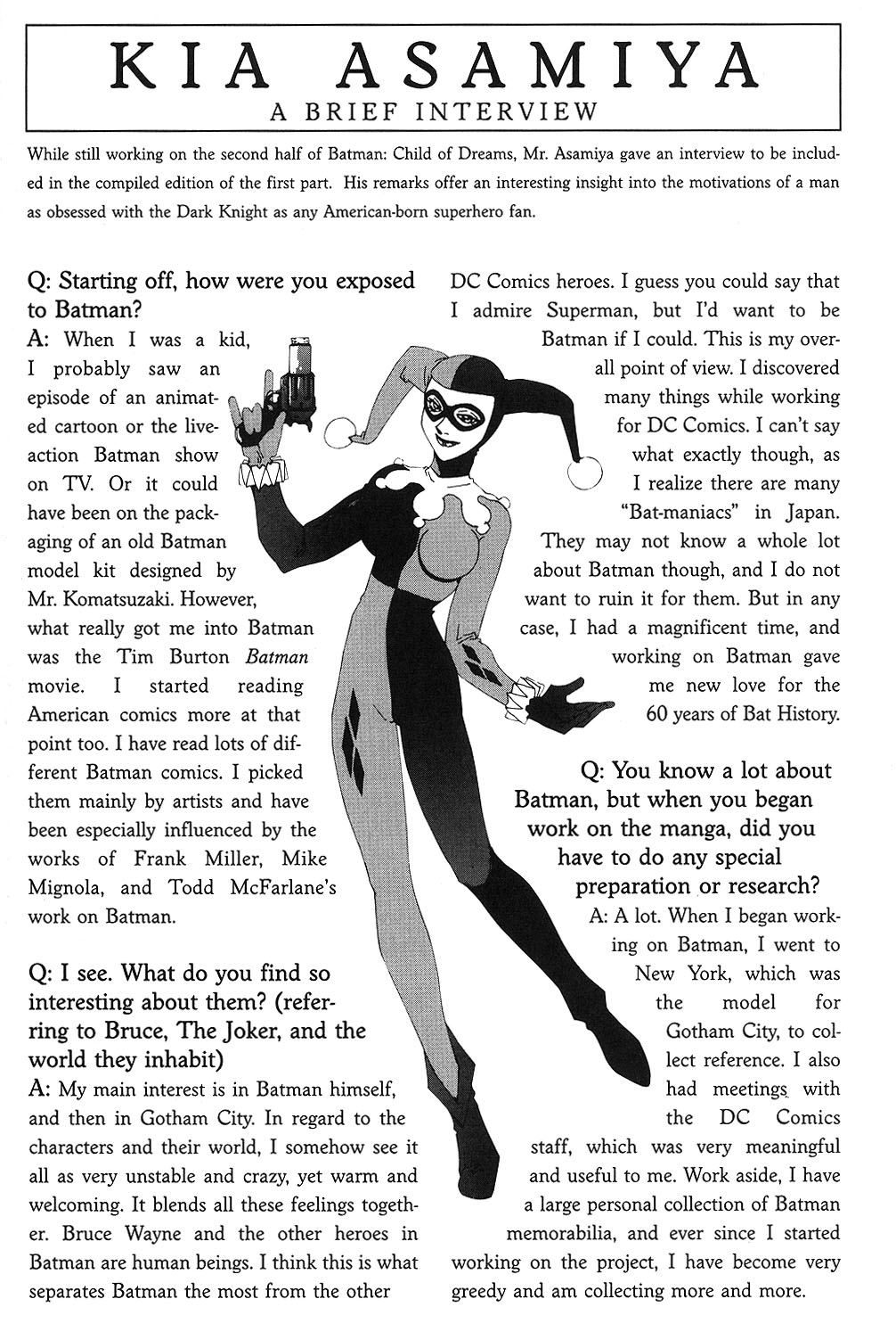 Read online Batman: Child of Dreams comic -  Issue # Full - 329