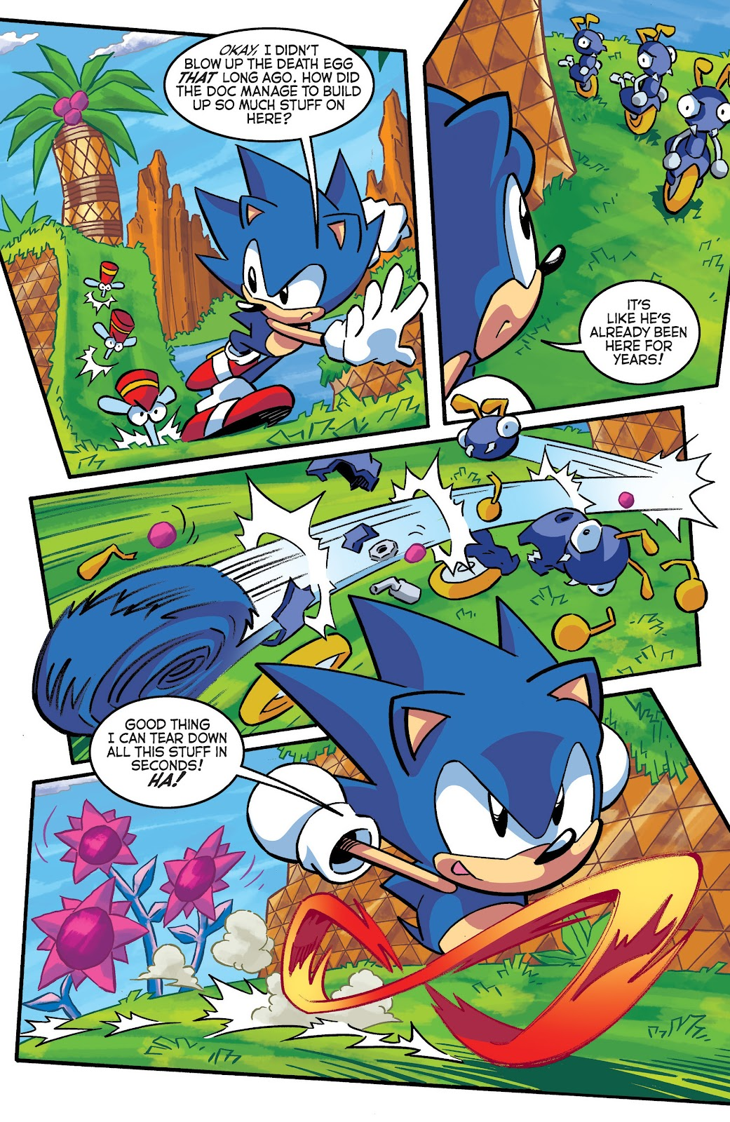 Sonic The Hedgehog (1993) Issue #290 #290 - English 8
