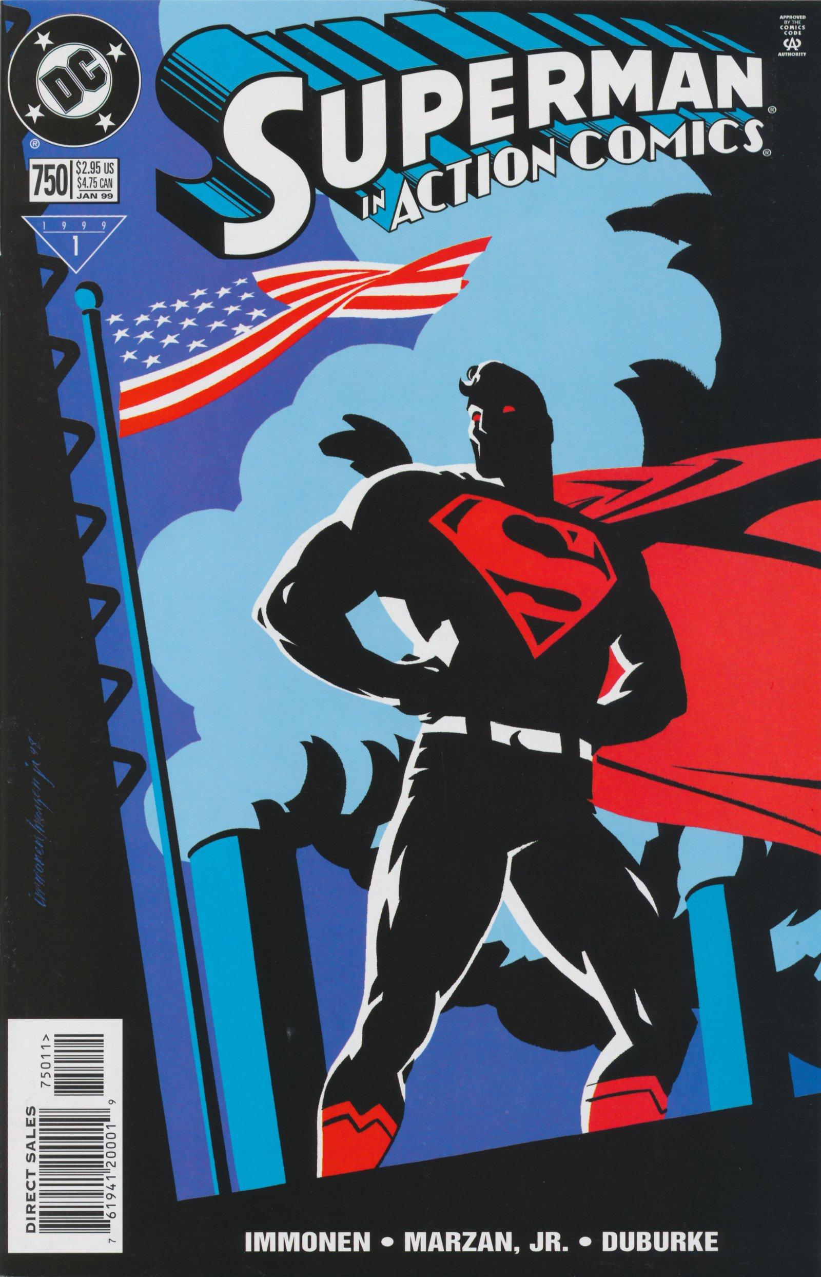 Action Comics (1938) 750 Page 1