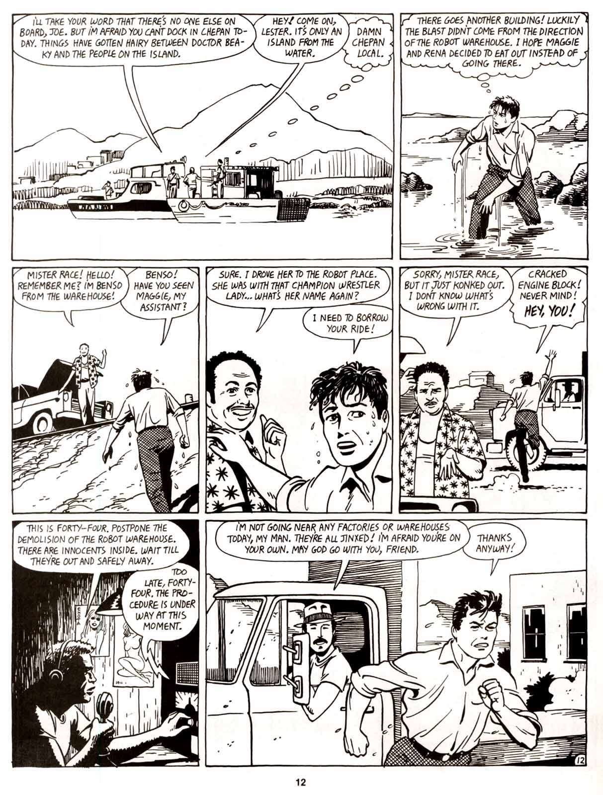 Love and Rockets (1982) Issue #8 #7 - English 14