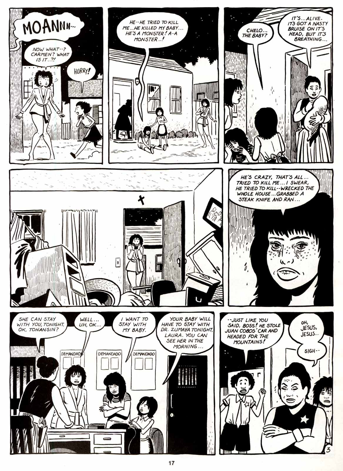 Love and Rockets (1982) Issue #8 #7 - English 19