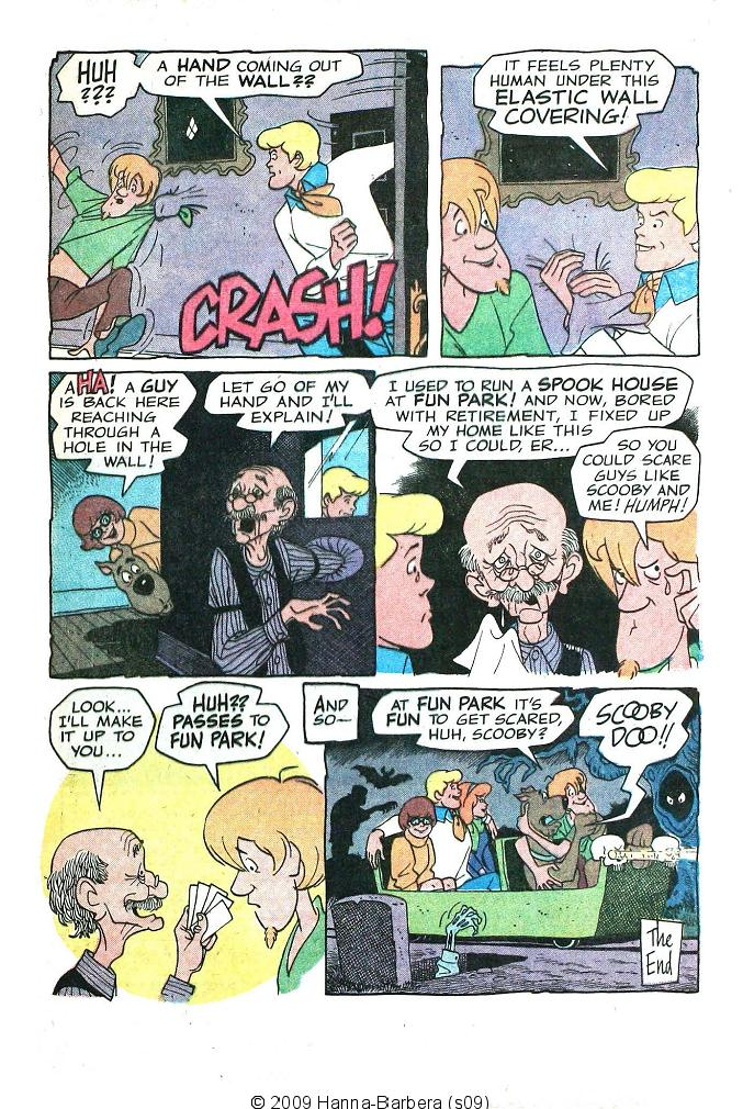 Read online Scooby-Doo... Where Are You! (1970) comic -  Issue #6 - 33